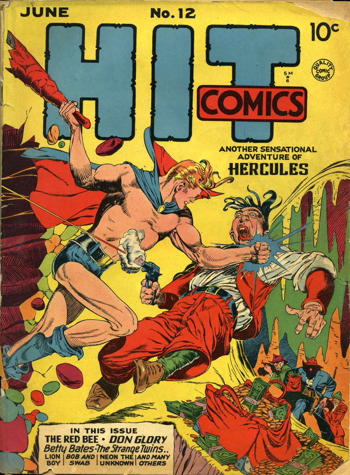 Read online Hit Comics comic -  Issue #12 - 1