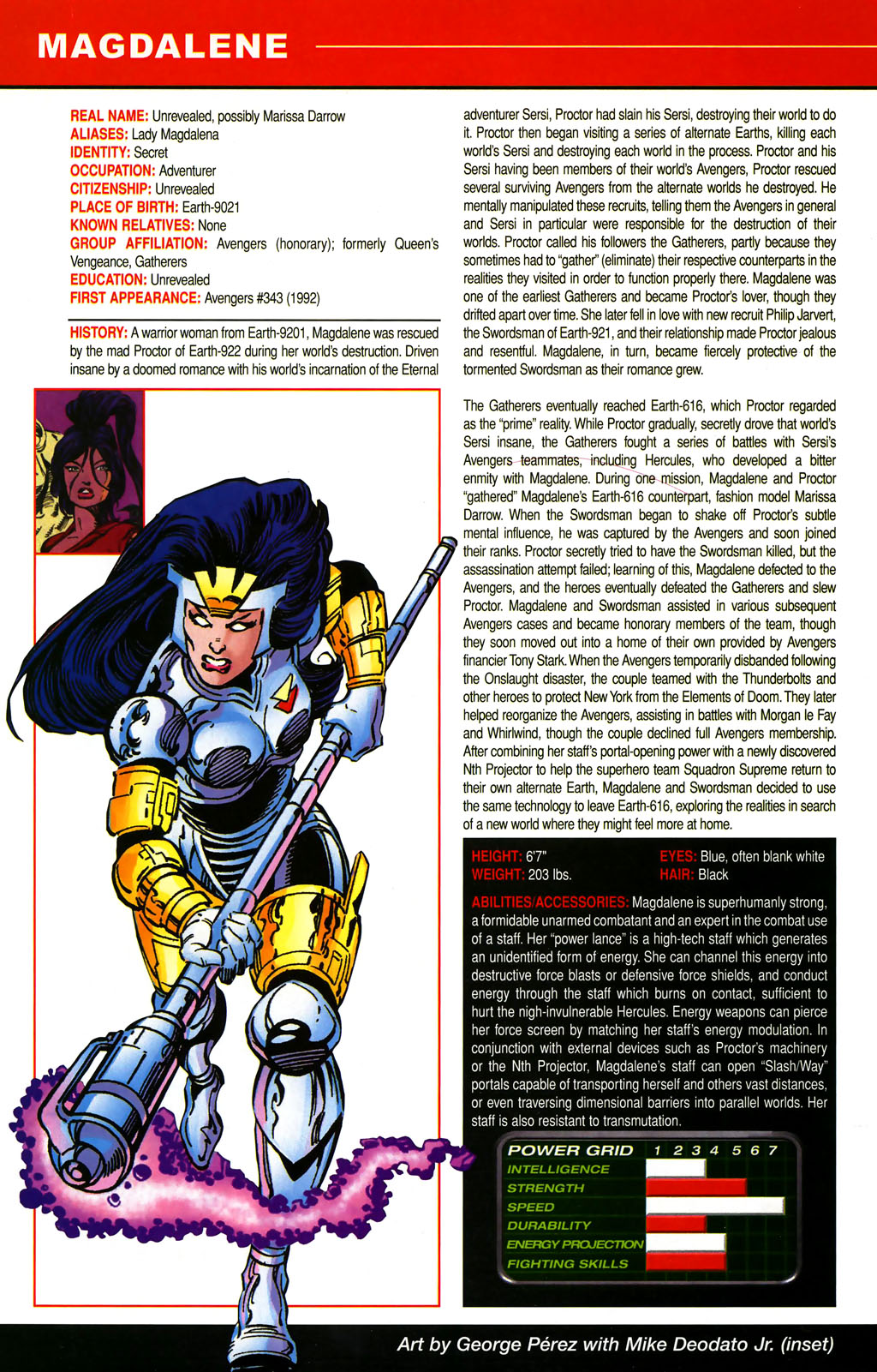 Read online All-New Official Handbook of the Marvel Universe A to Z comic -  Issue #6 - 58
