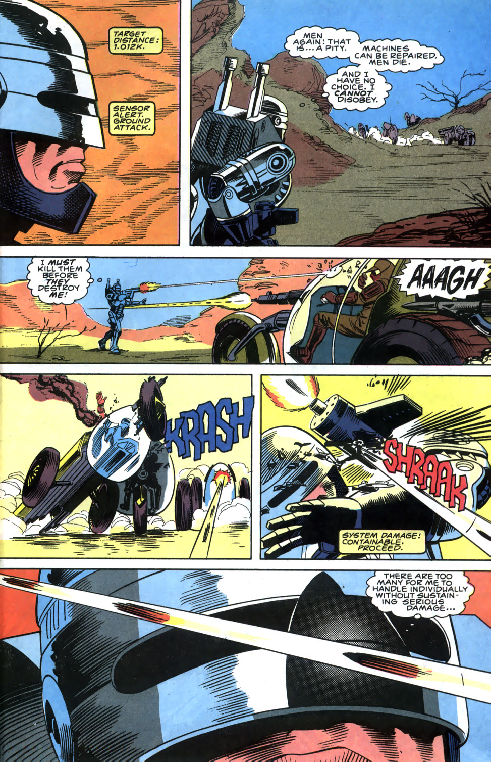 Read online Robocop (1990) comic -  Issue #5 - 20