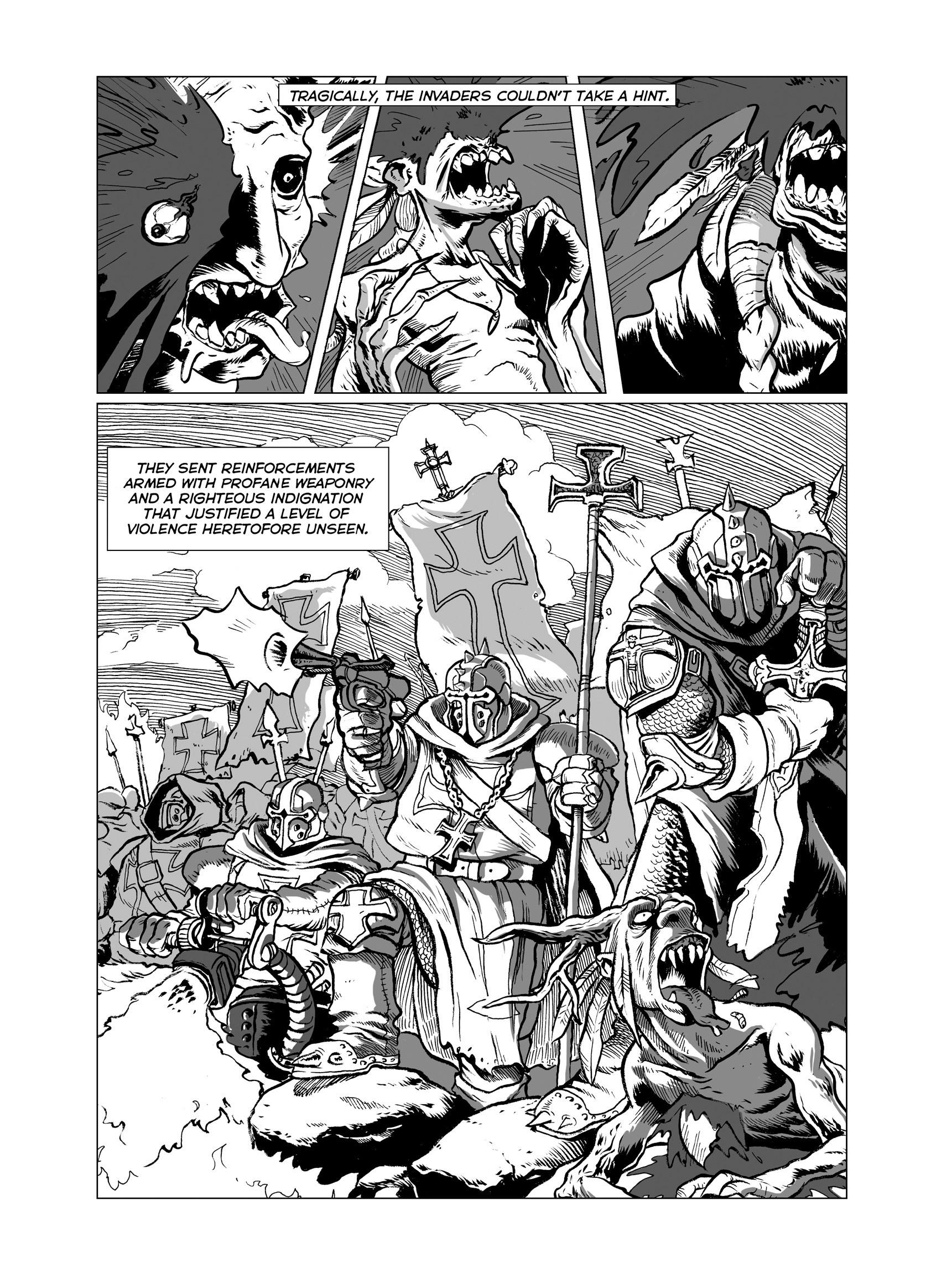 Read online FUBAR comic -  Issue #3 - 20
