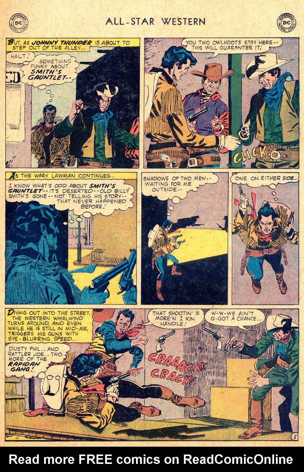 Read online All-Star Western (1951) comic -  Issue #104 - 29