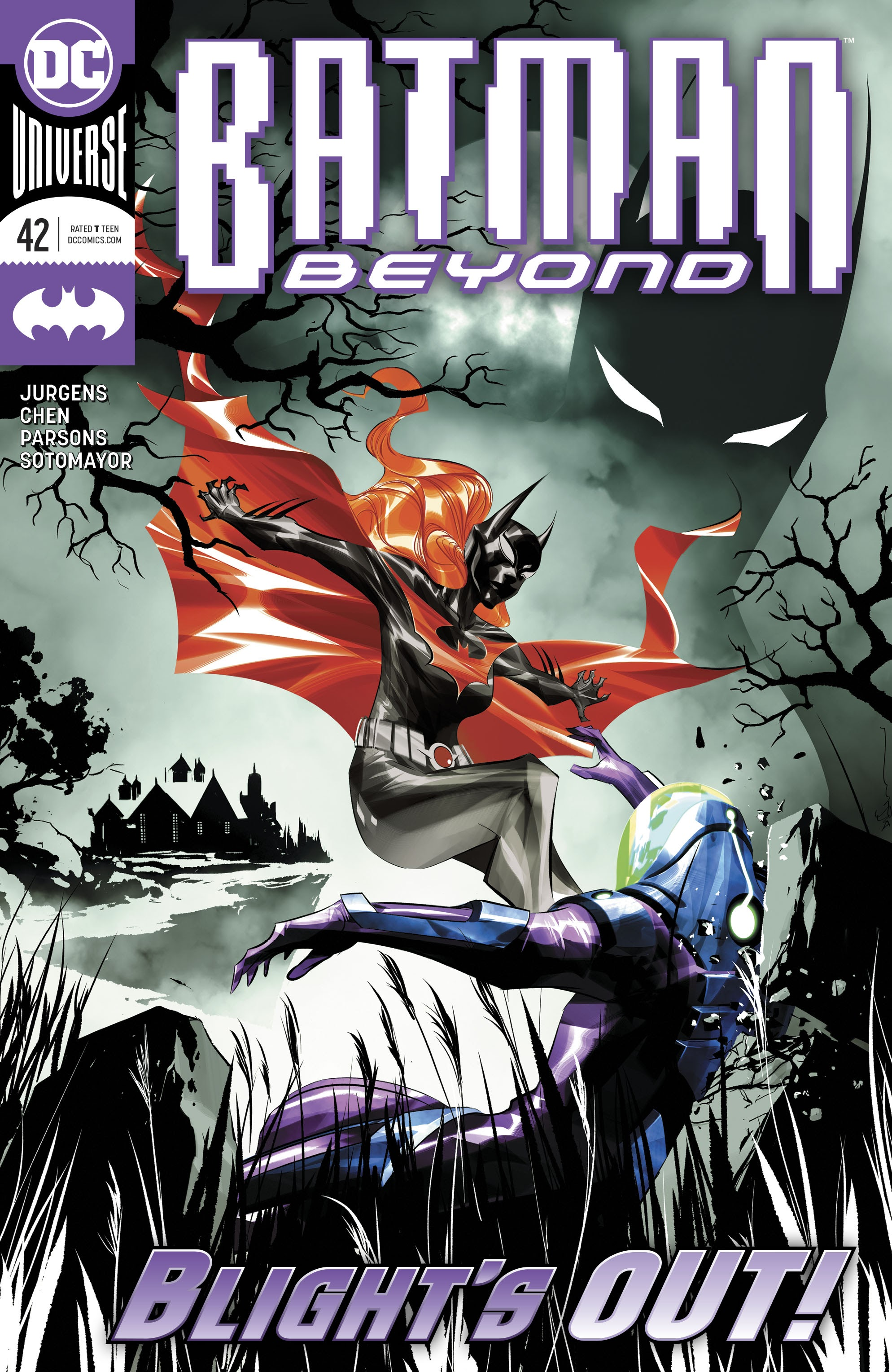 Batman Beyond (2016) 42 Page 1