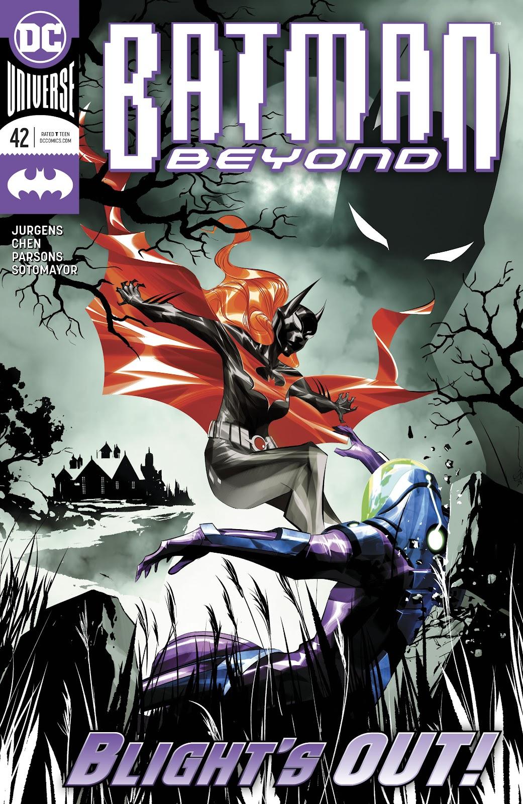 Batman Beyond (2016) 42 Page 1