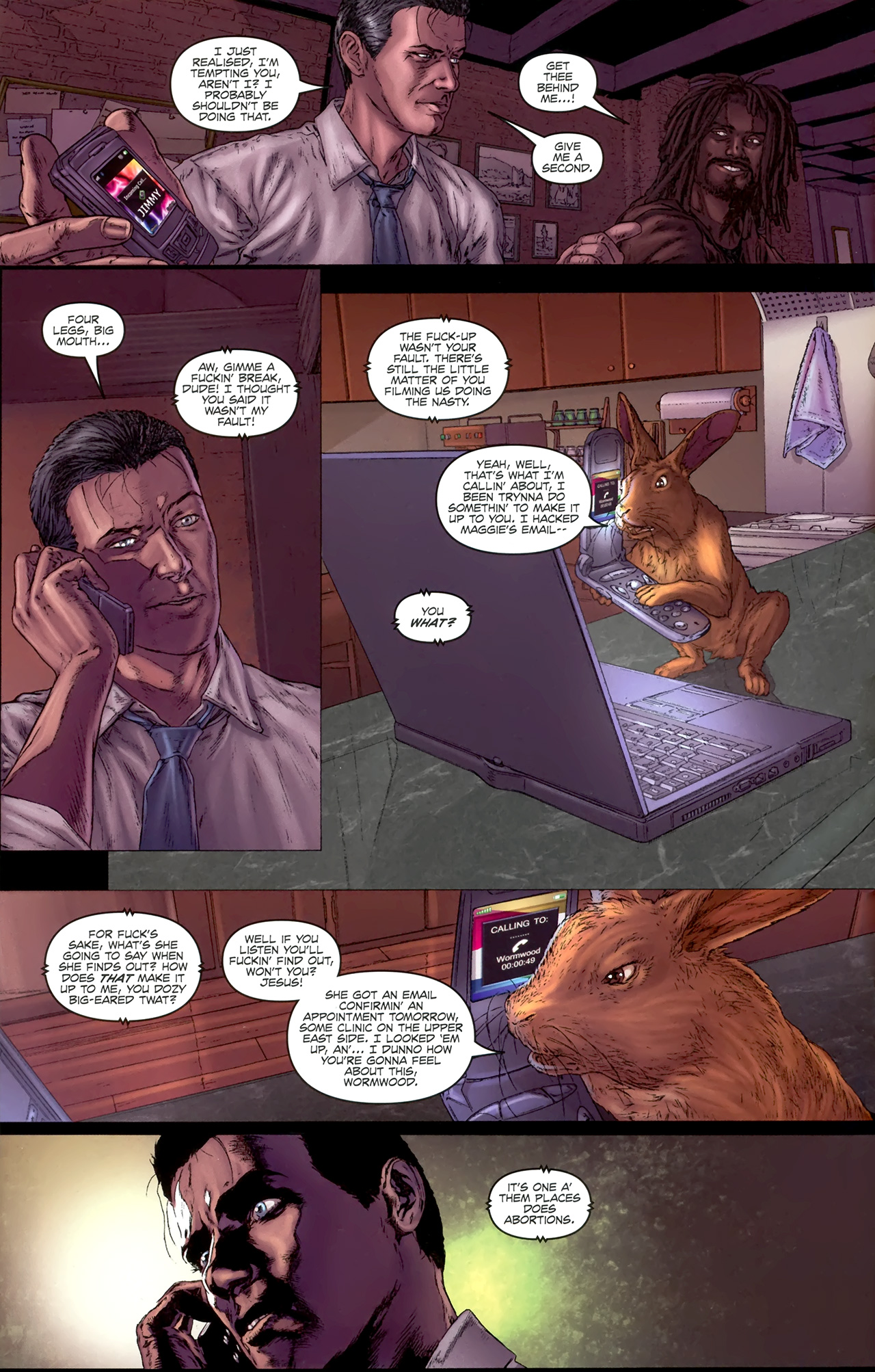 Read online Chronicles of Wormwood: The Last Battle comic -  Issue #4 - 9