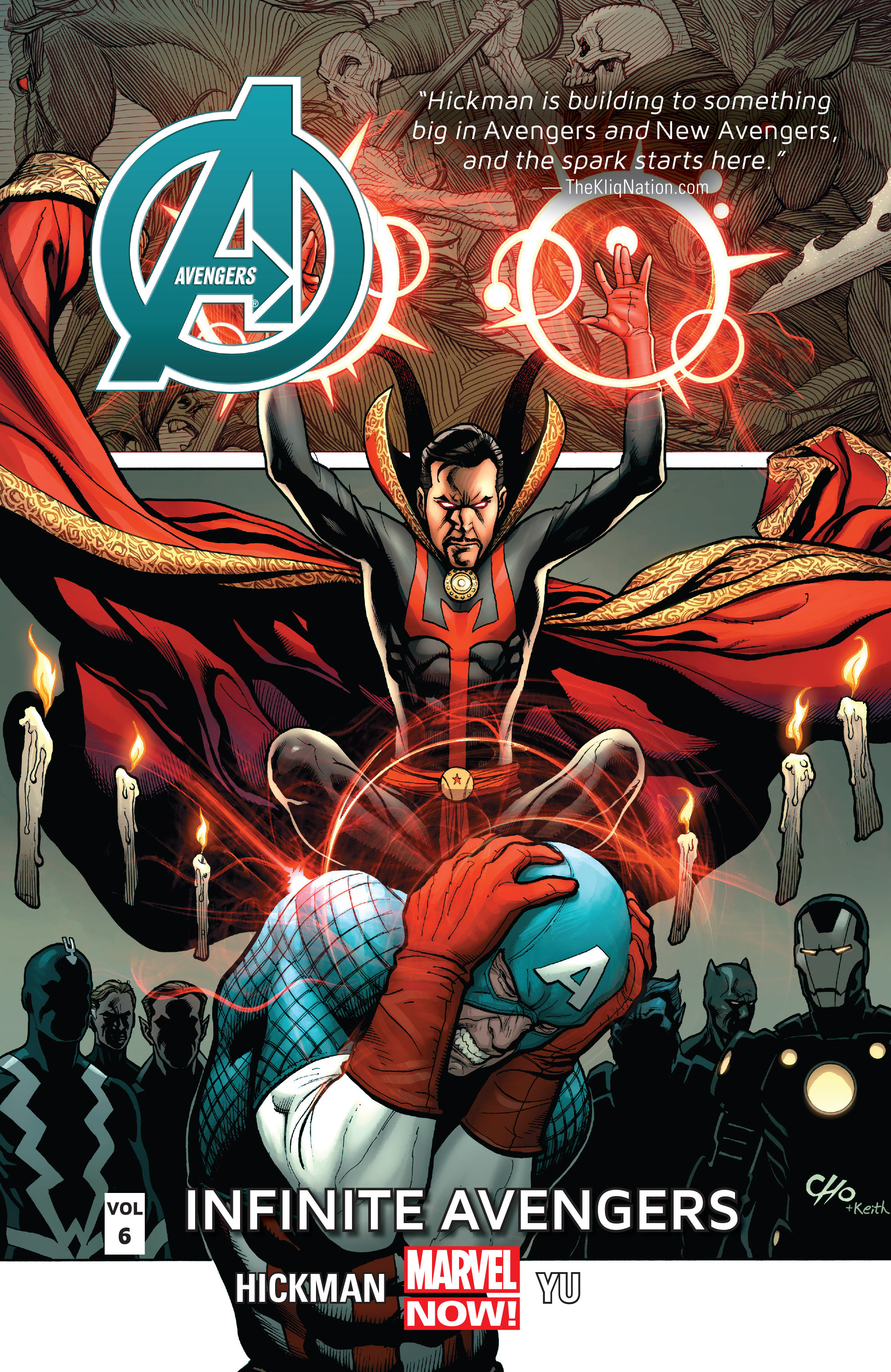 Read online Avengers (2013) comic -  Issue #Avengers (2013) _TPB 6 - 1