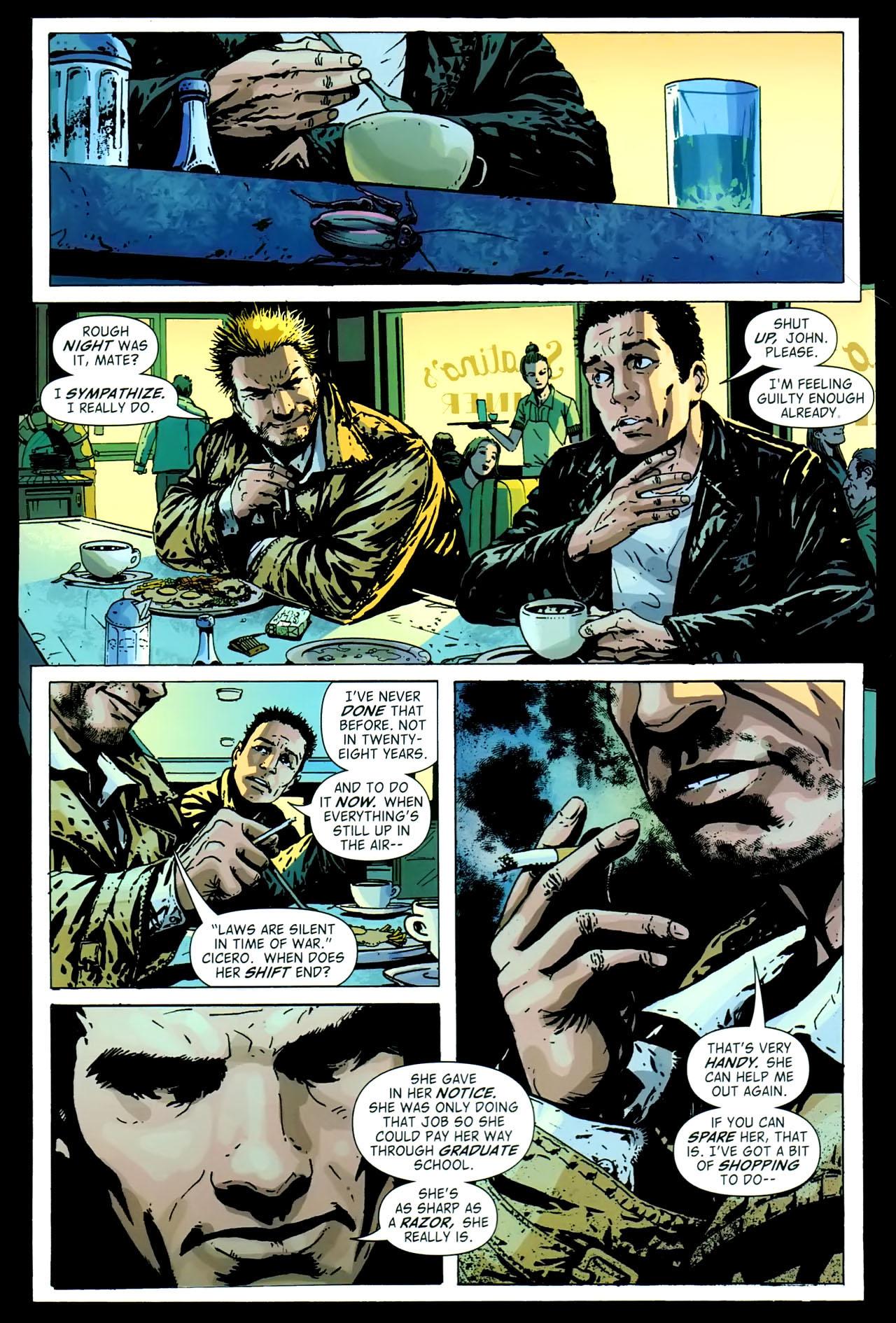 Read online John Constantine Hellblazer: All His Engines comic -  Issue # Full - 73