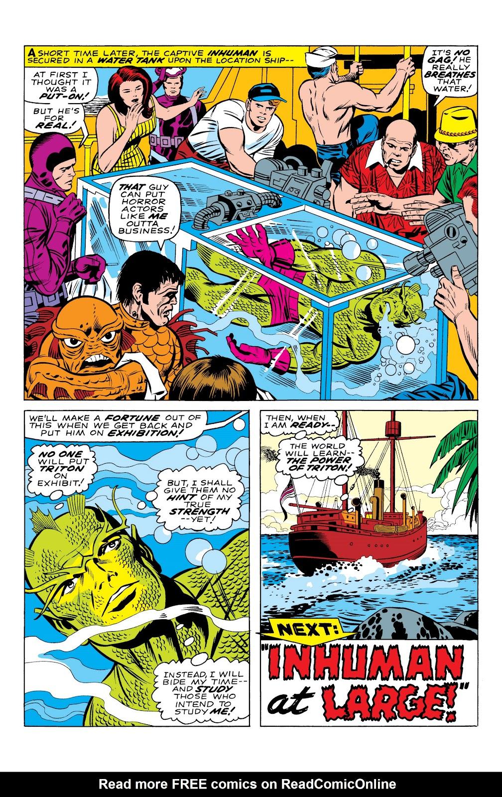 Read online Marvel Masterworks: The Inhumans comic -  Issue # TPB 1 (Part 1) - 32