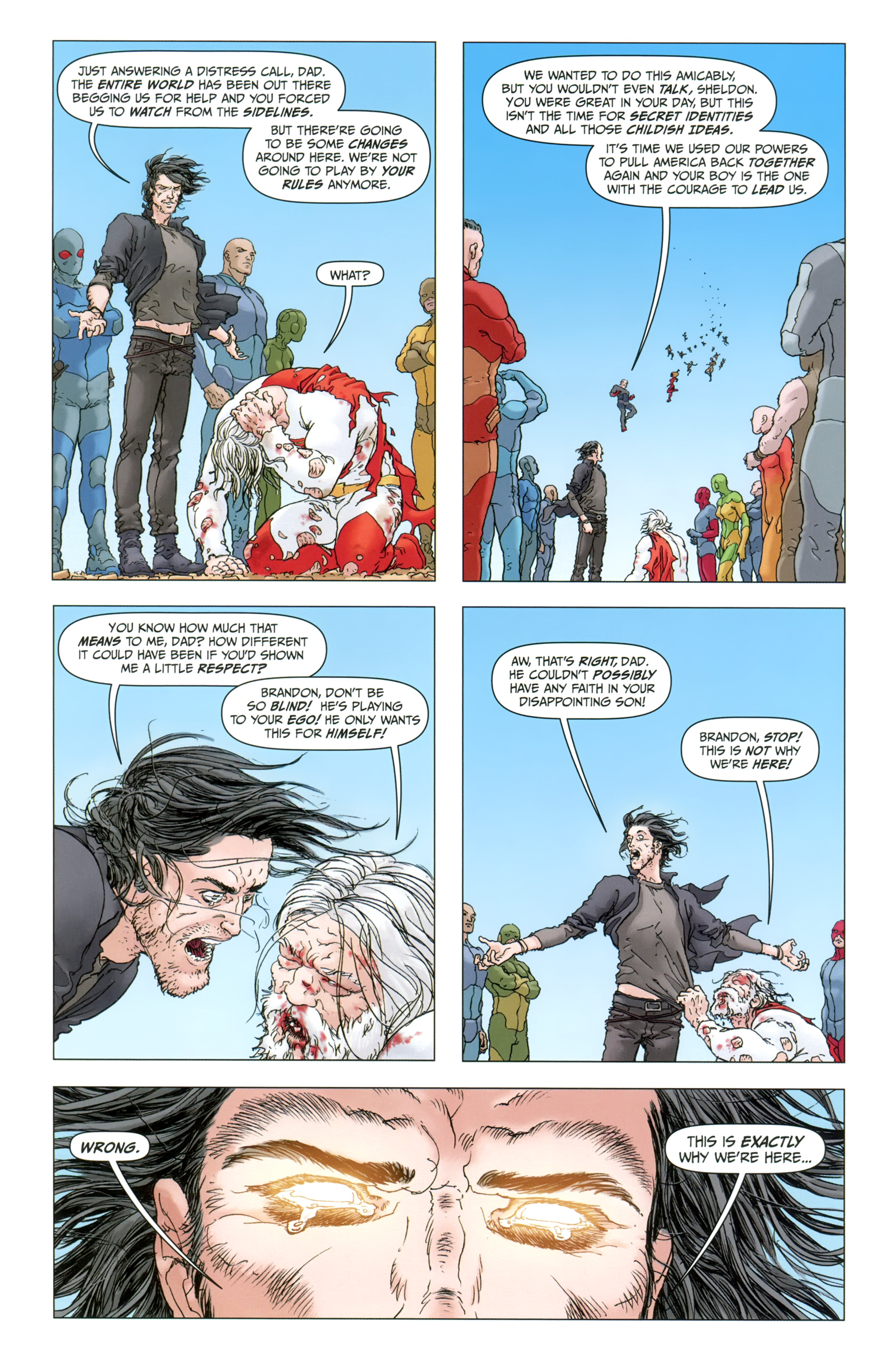 Read Online Jupiter S Legacy Comic Issue 3