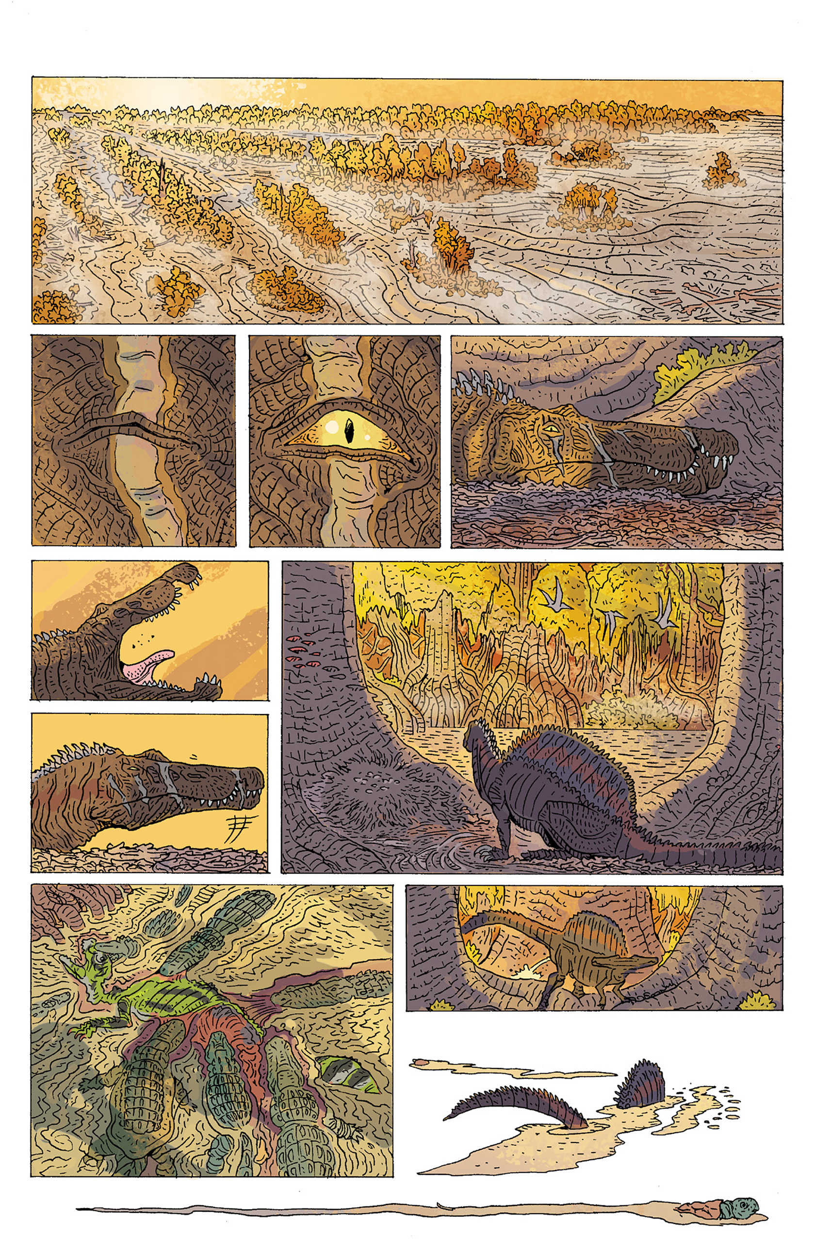 Read online Age of Reptiles: Ancient Egyptians comic -  Issue #1 - 17