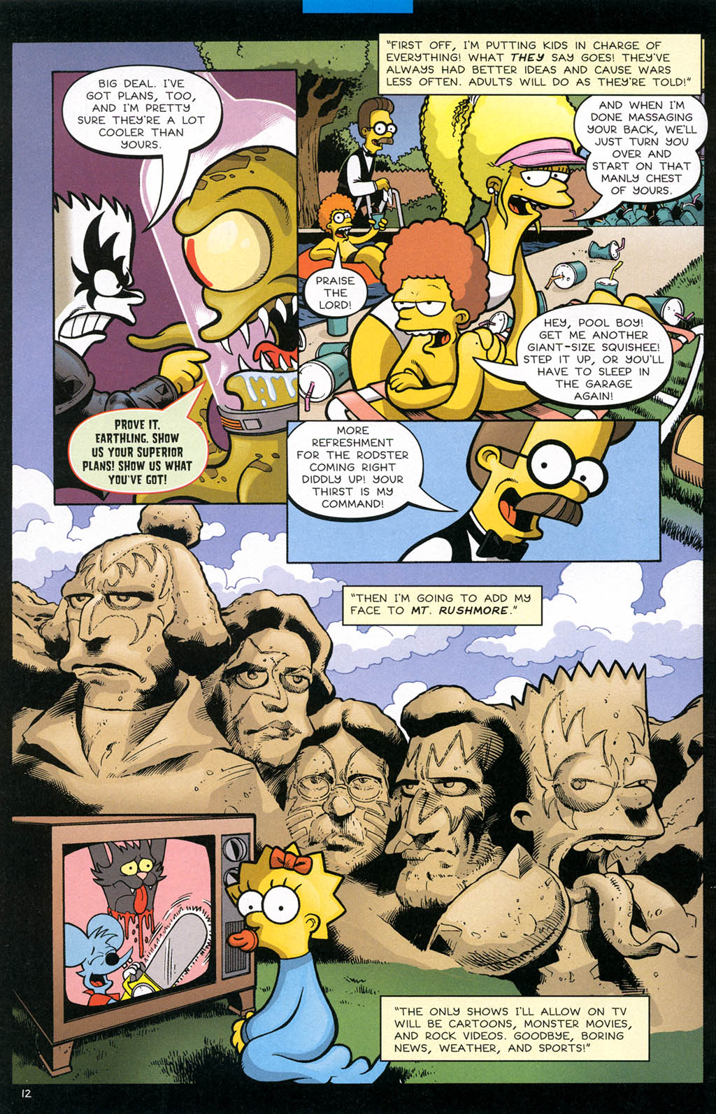 Read online Treehouse of Horror comic -  Issue #10 - 15