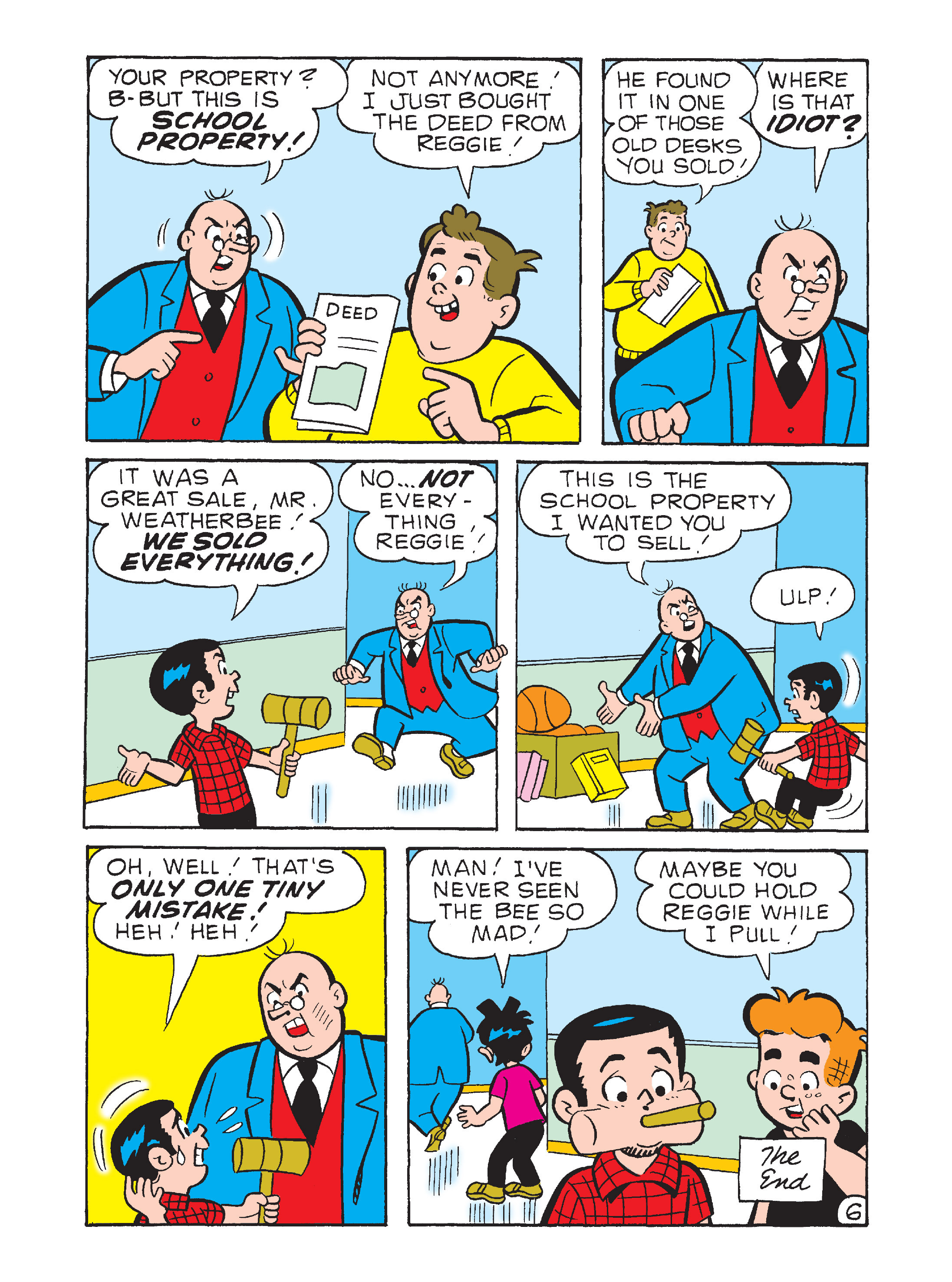 Read online Archie's Funhouse Double Digest comic -  Issue #12 - 138