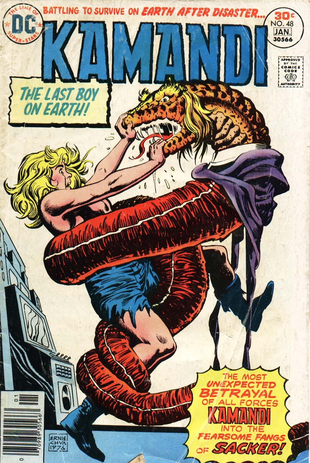 Kamandi, The Last Boy On Earth issue 48 - Page 1