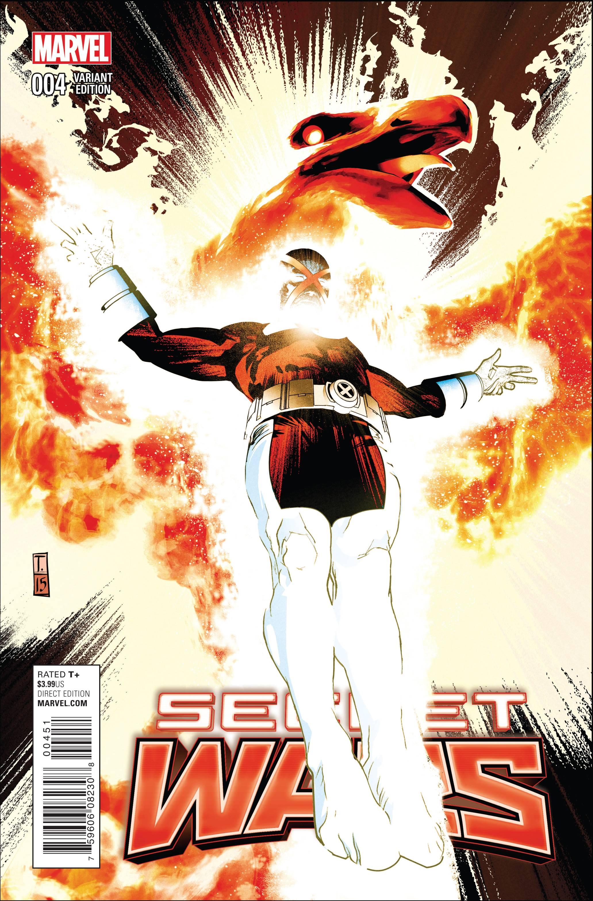 Read online Secret Wars comic -  Issue #4 - 9