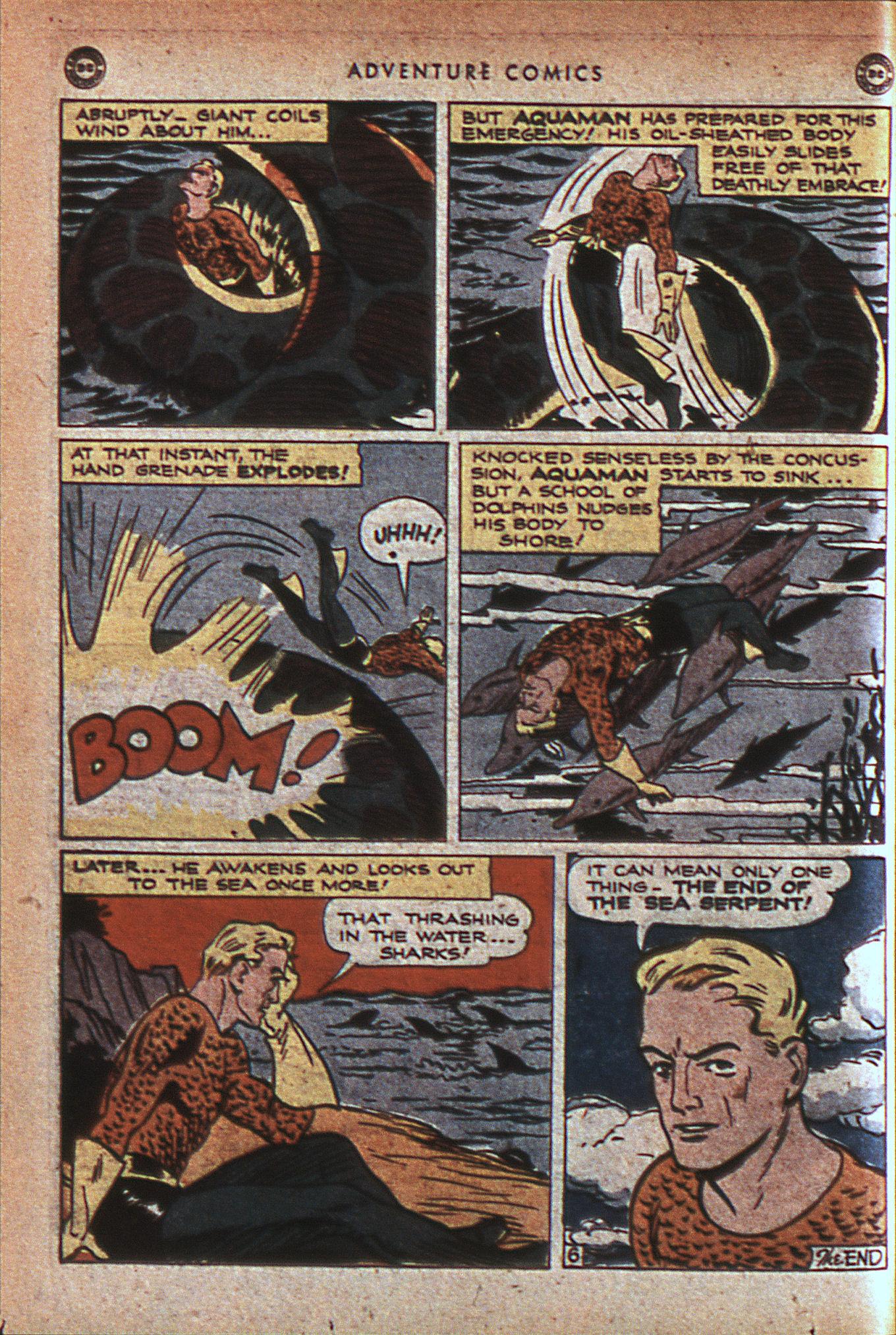 Read online Adventure Comics (1938) comic -  Issue #124 - 39