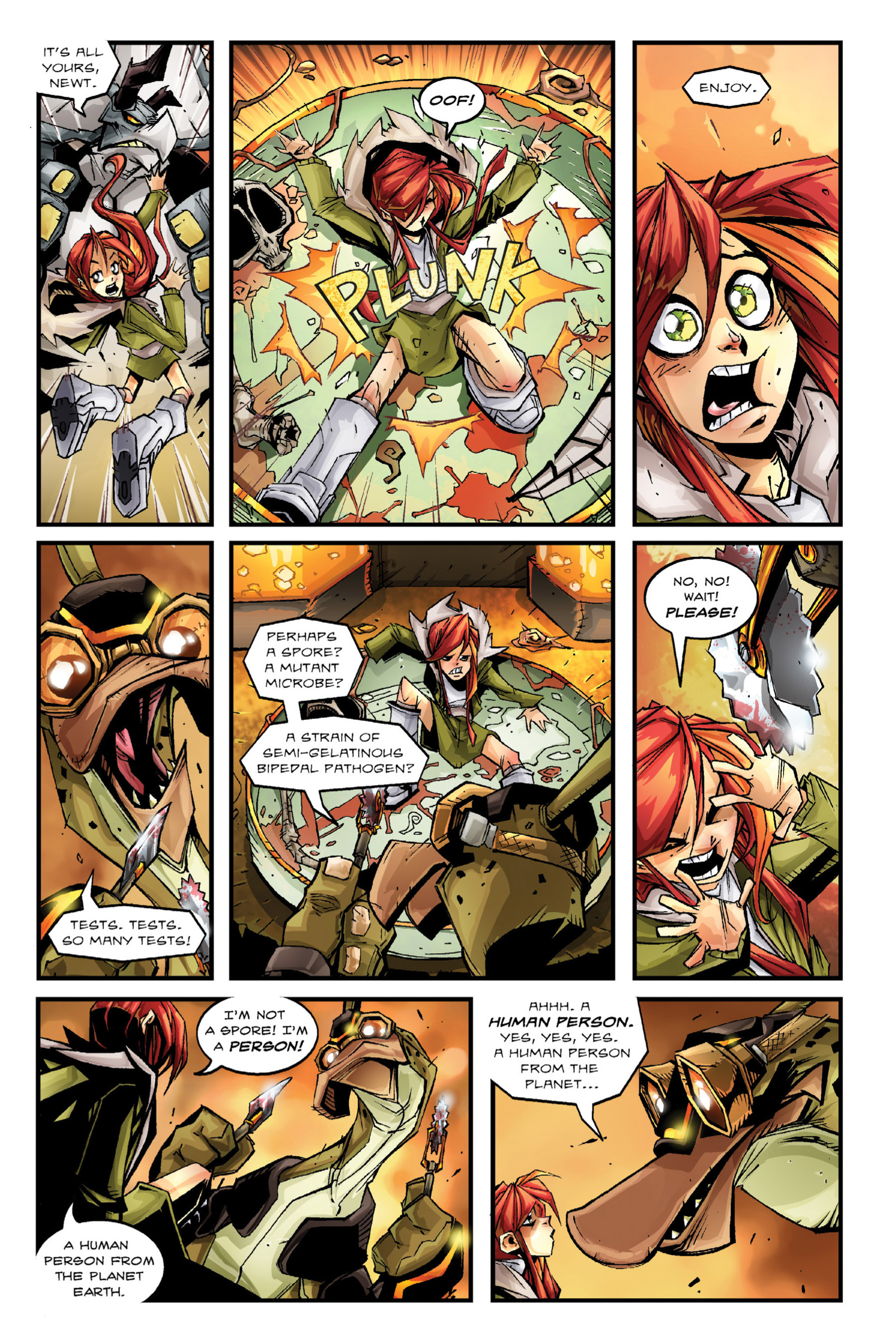 Read online Rexodus comic -  Issue # Full - 38