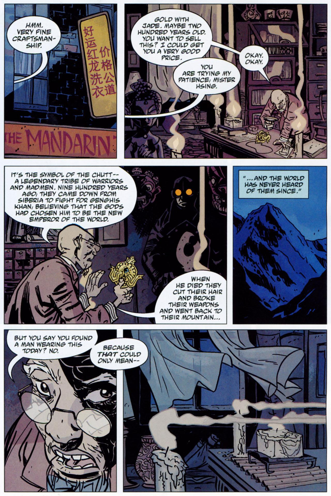 Read online Lobster Johnson: The Iron Prometheus comic -  Issue #1 - 20