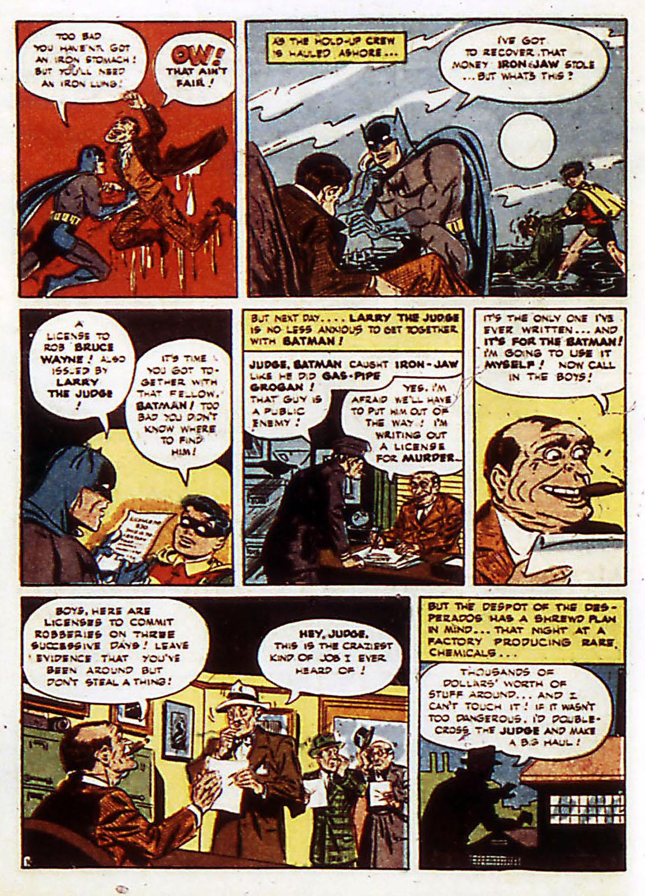 Read online Detective Comics (1937) comic -  Issue #72 - 13
