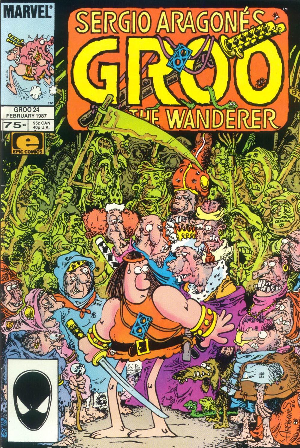 Read online Sergio Aragonés Groo the Wanderer comic -  Issue #24 - 1