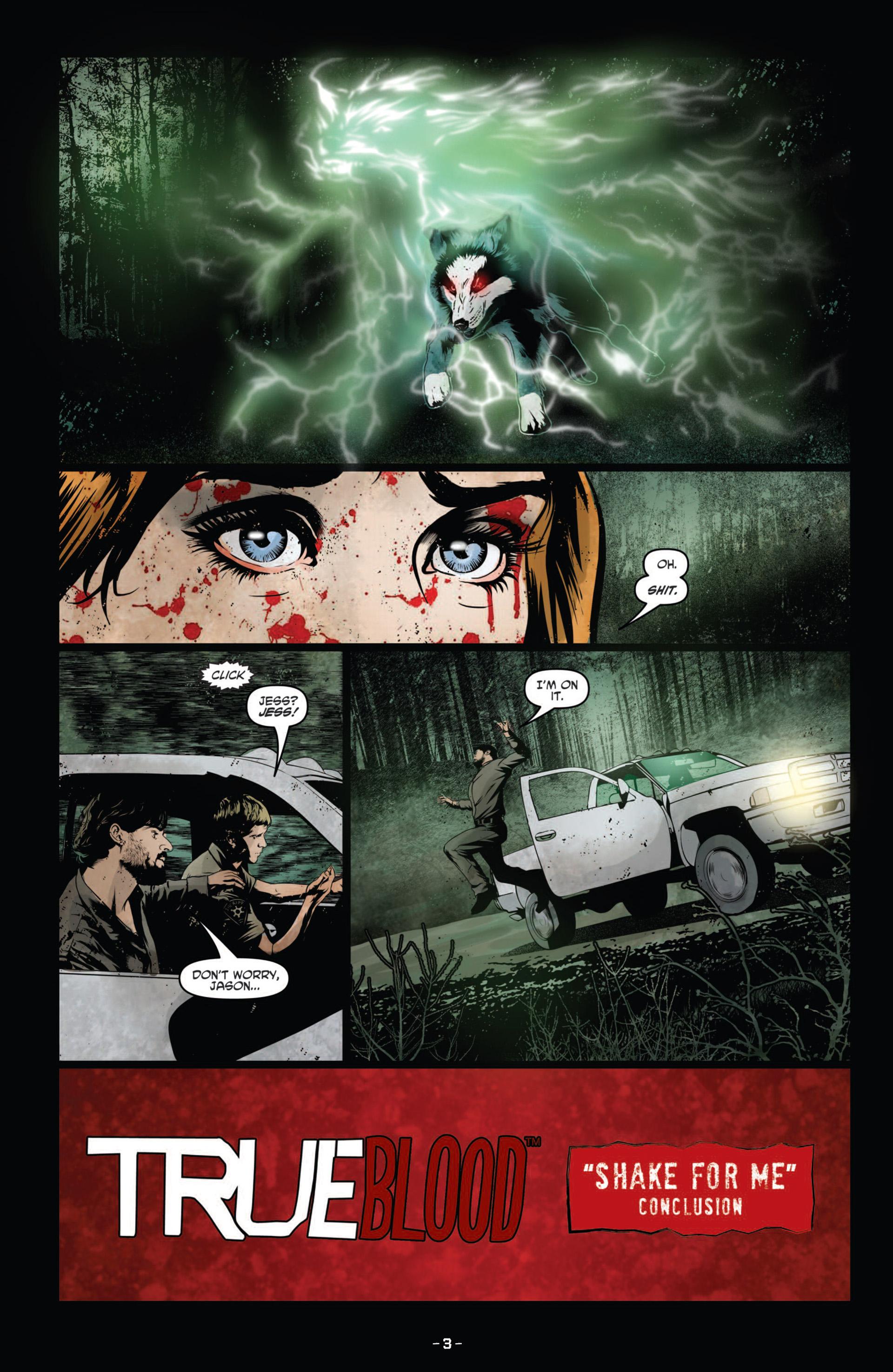 Read online True Blood (2012) comic -  Issue #9 - 5
