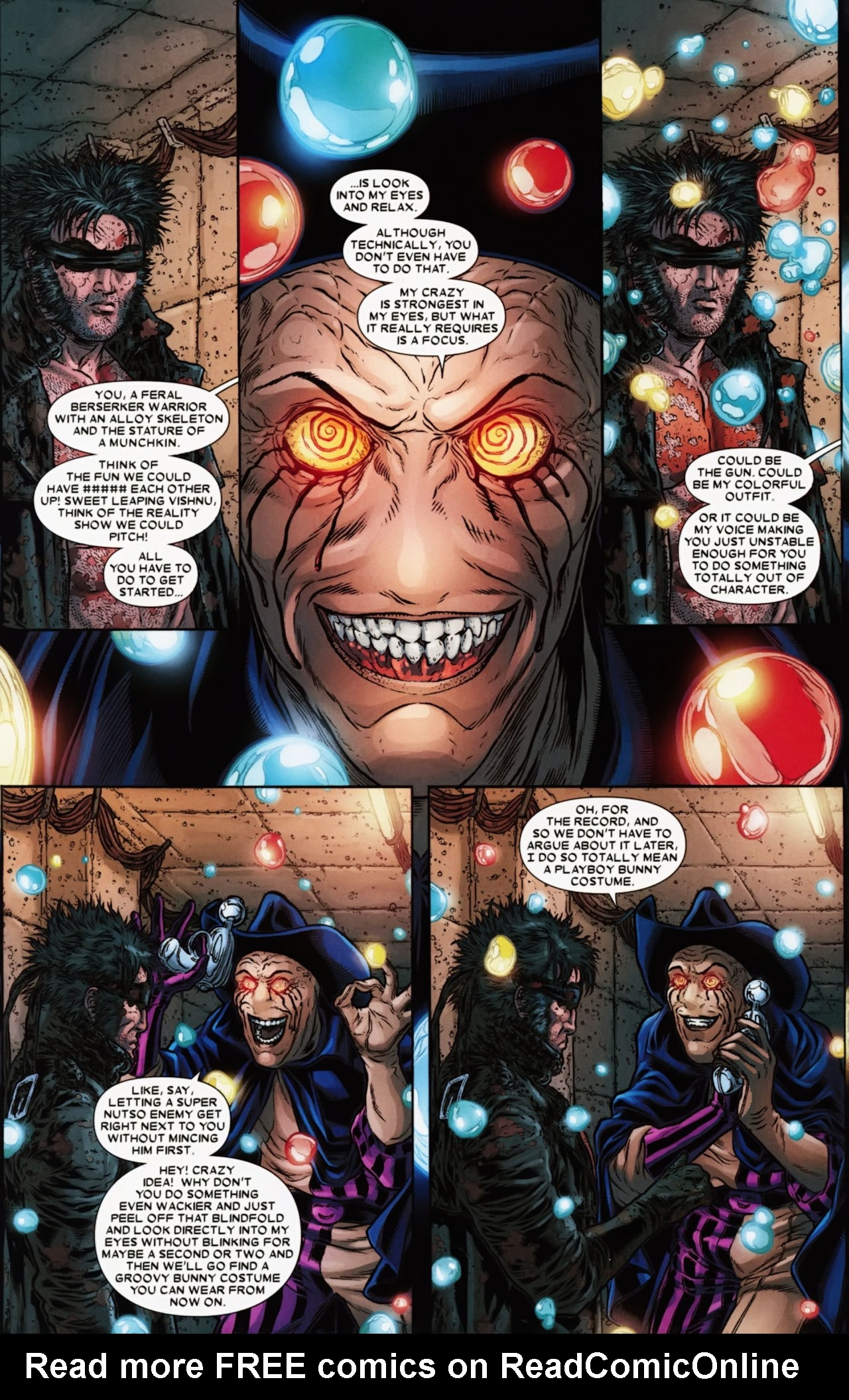 Read online Wolverine: The Best There Is comic -  Issue #6 - 12