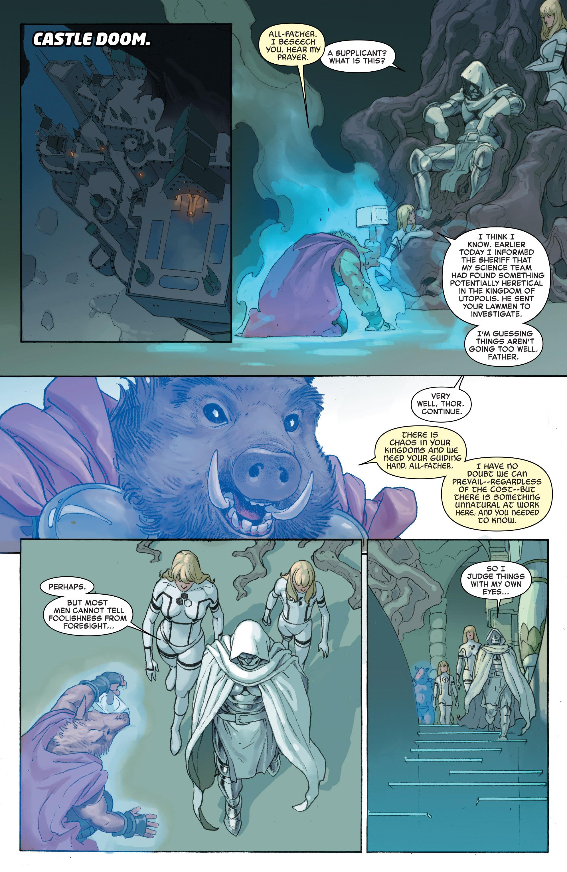 Read online Secret Wars comic -  Issue #4 - 20