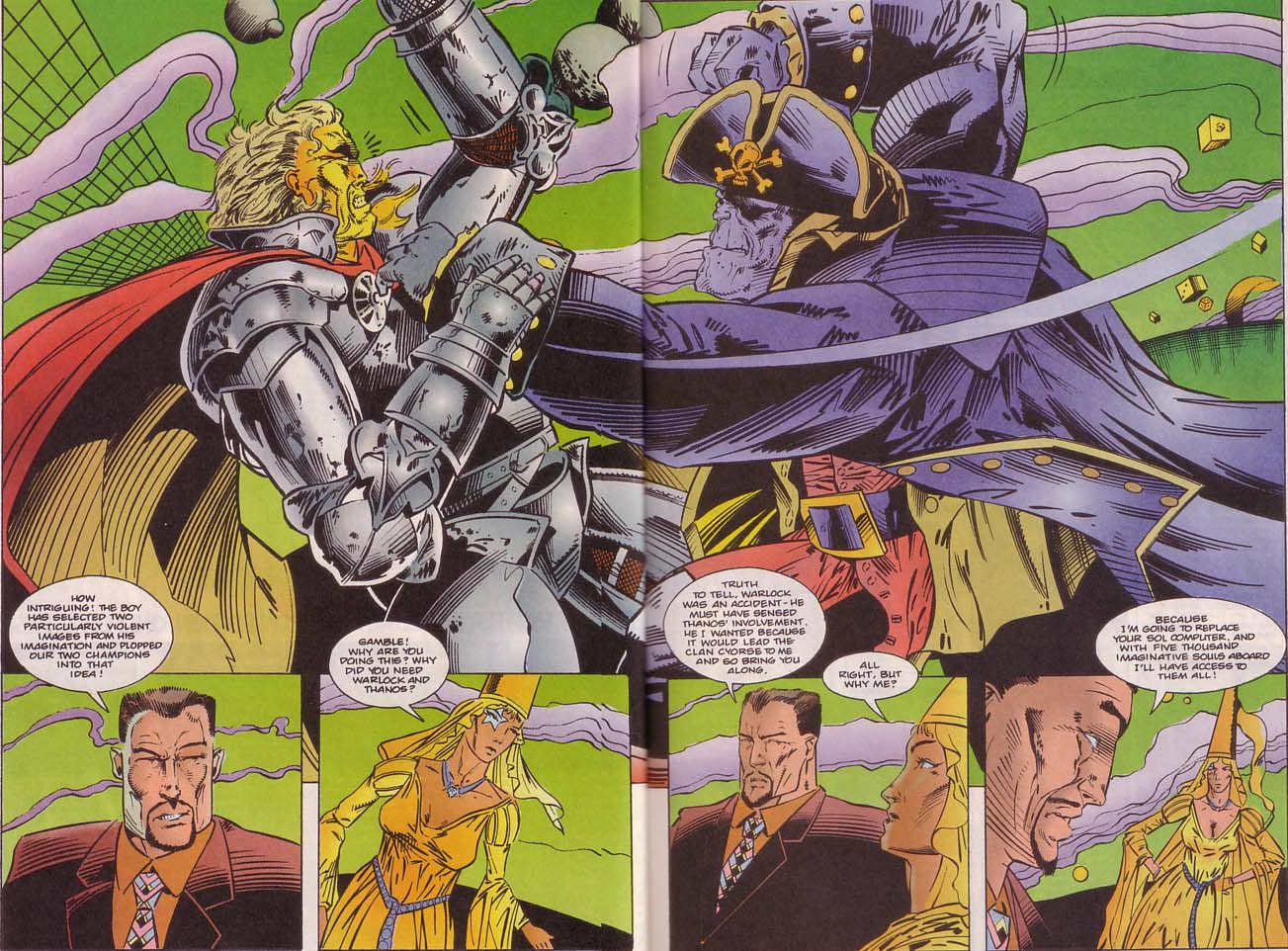 Read online Cyberspace 3000 comic -  Issue #8 - 10