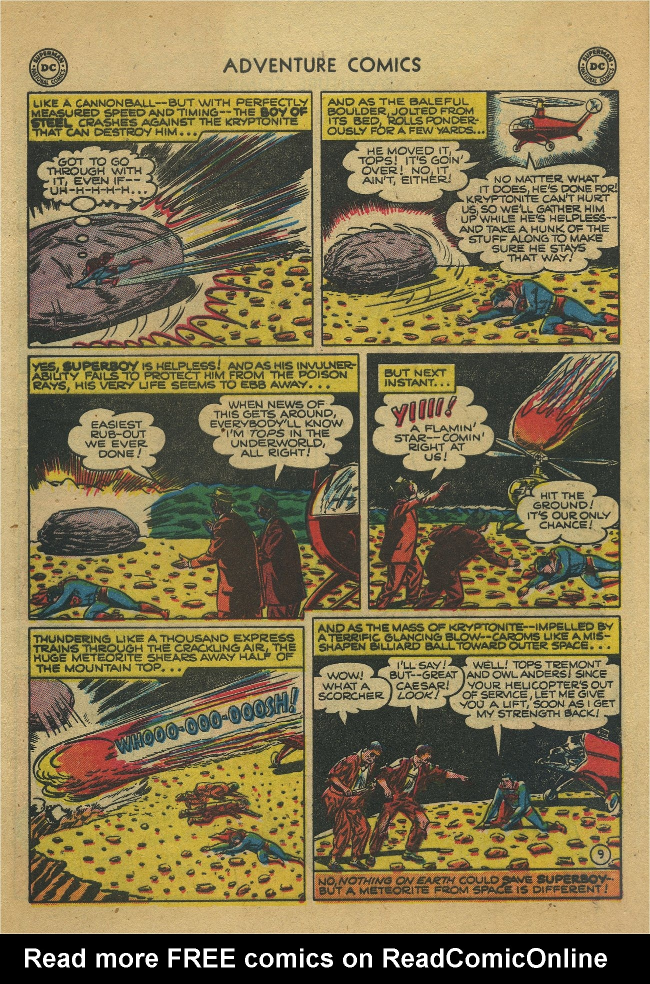 Read online Adventure Comics (1938) comic -  Issue #171 - 11