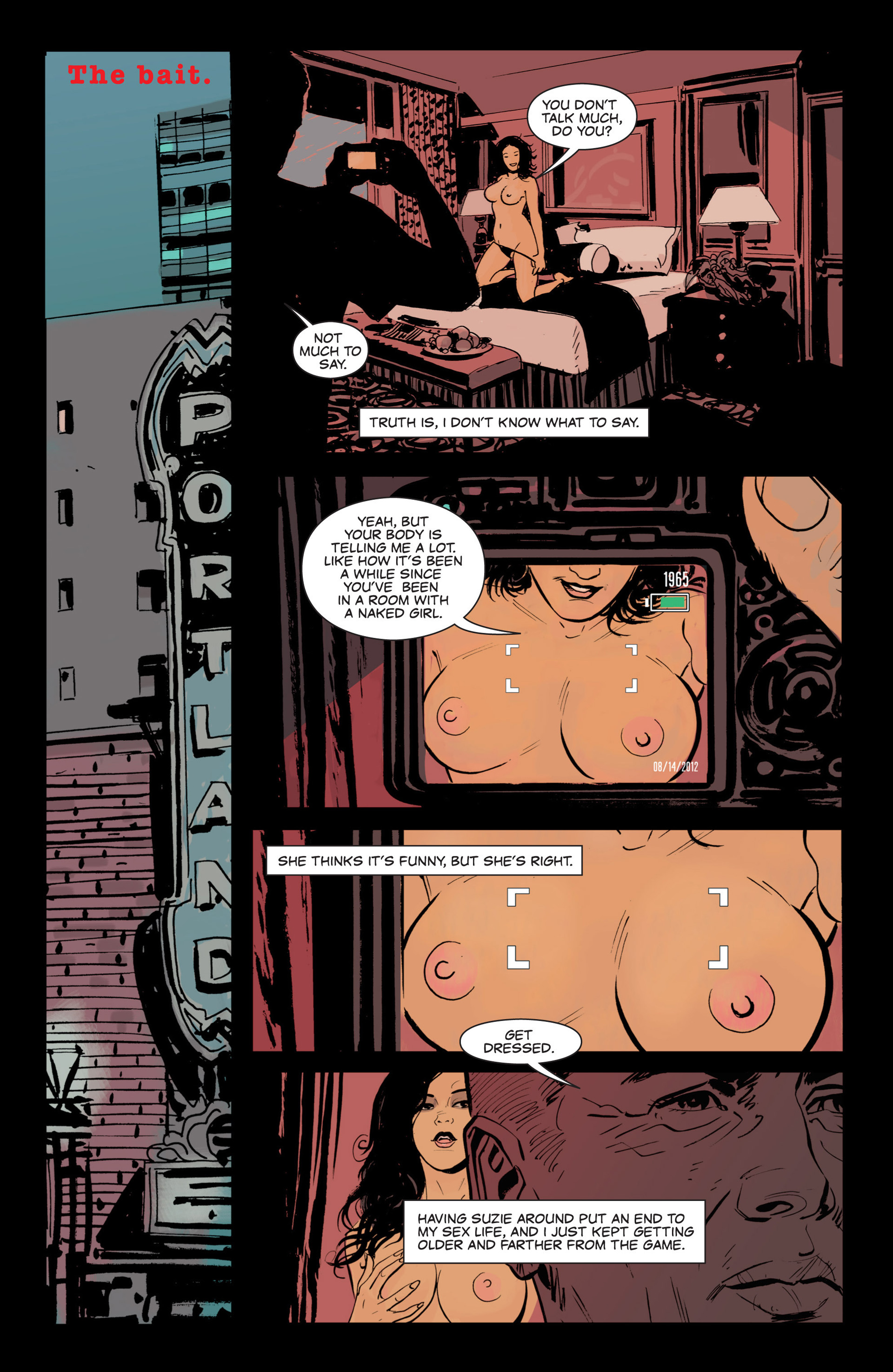 Read online Sex and Violence comic -  Issue # Full - 12