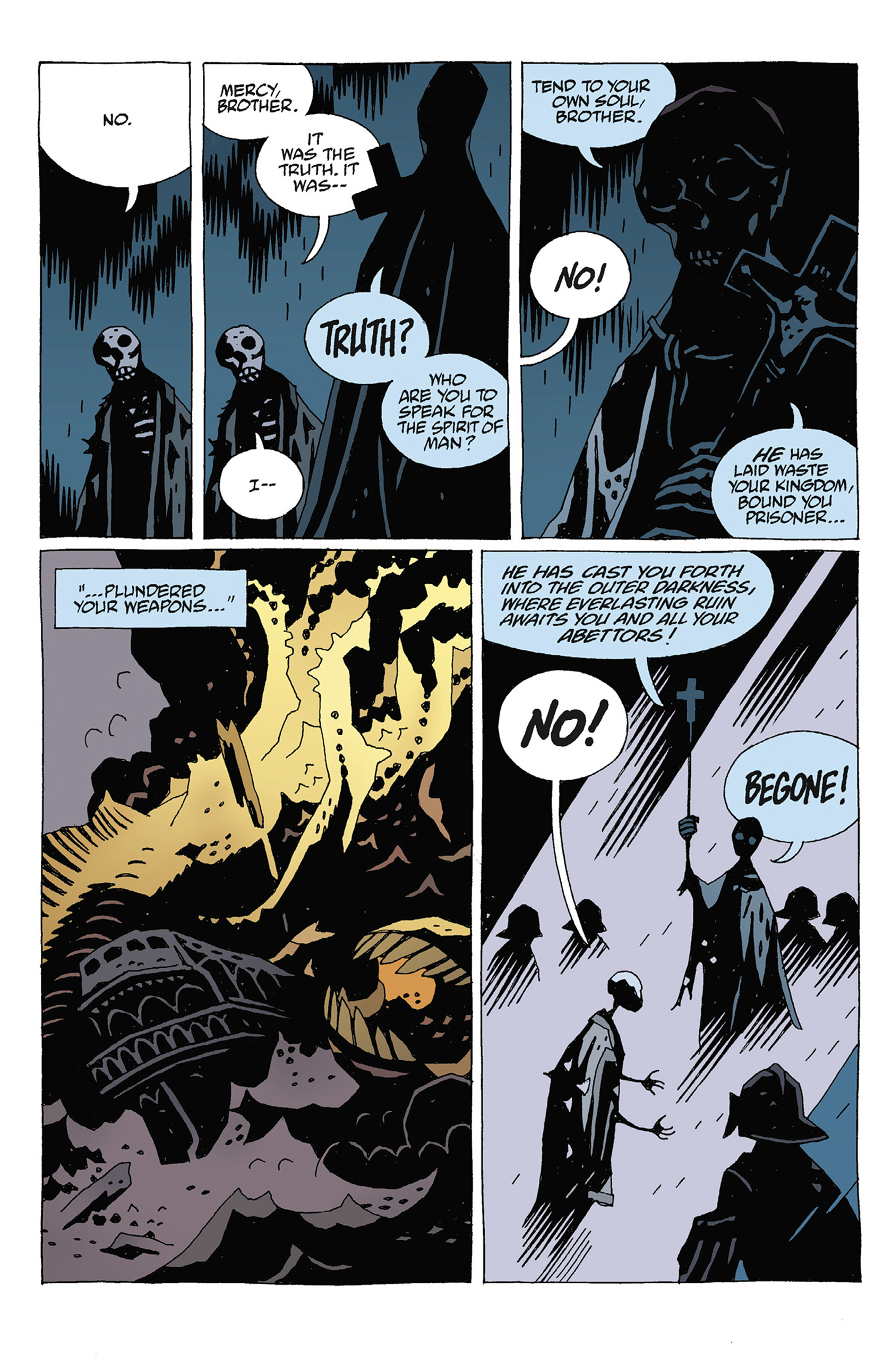 Read online Hellboy: Strange Places comic -  Issue # TPB - 122