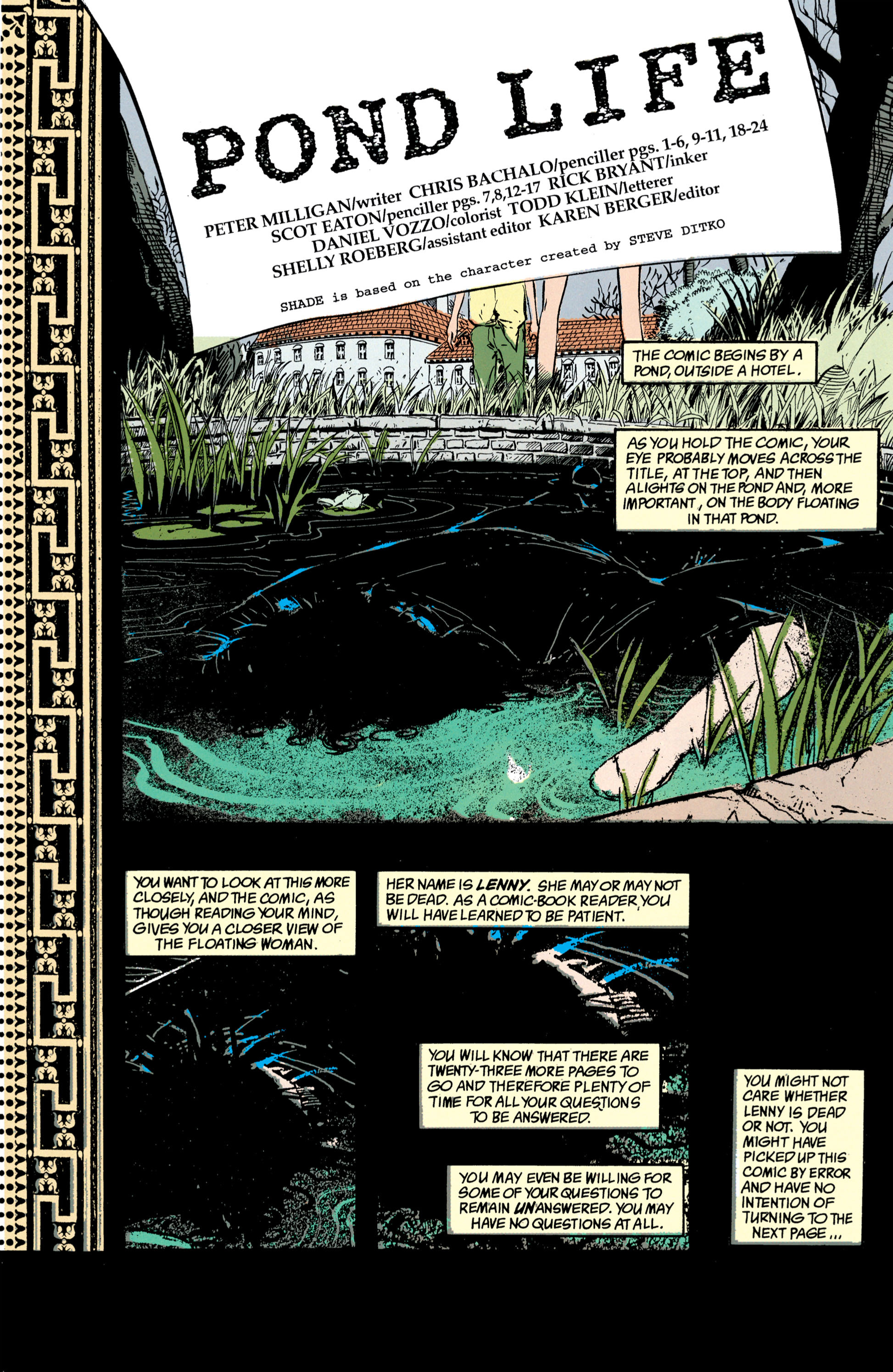 Read online Shade, the Changing Man comic -  Issue #39 - 2