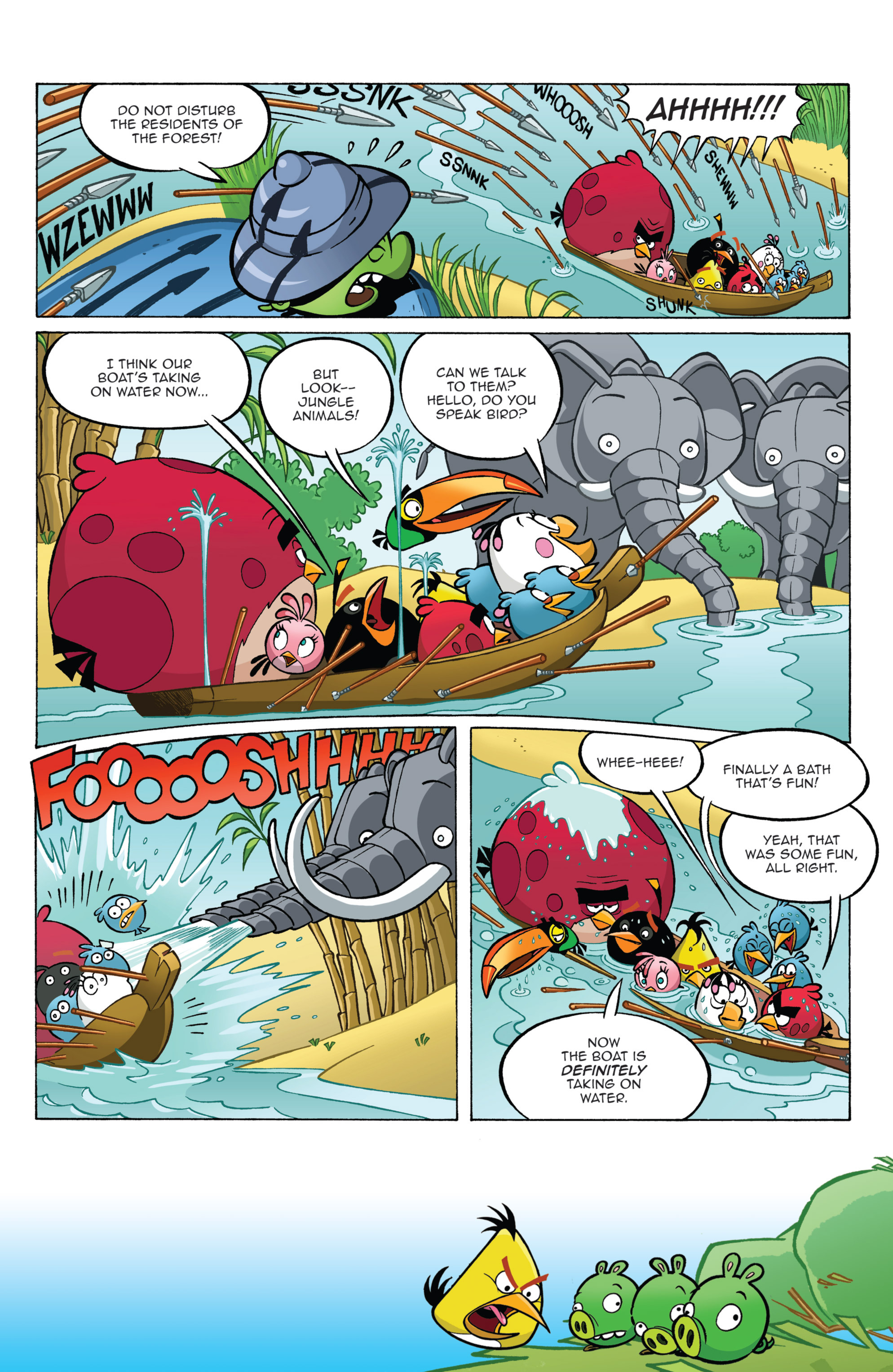 Read online Angry Birds Comics (2014) comic -  Issue #2 - 21