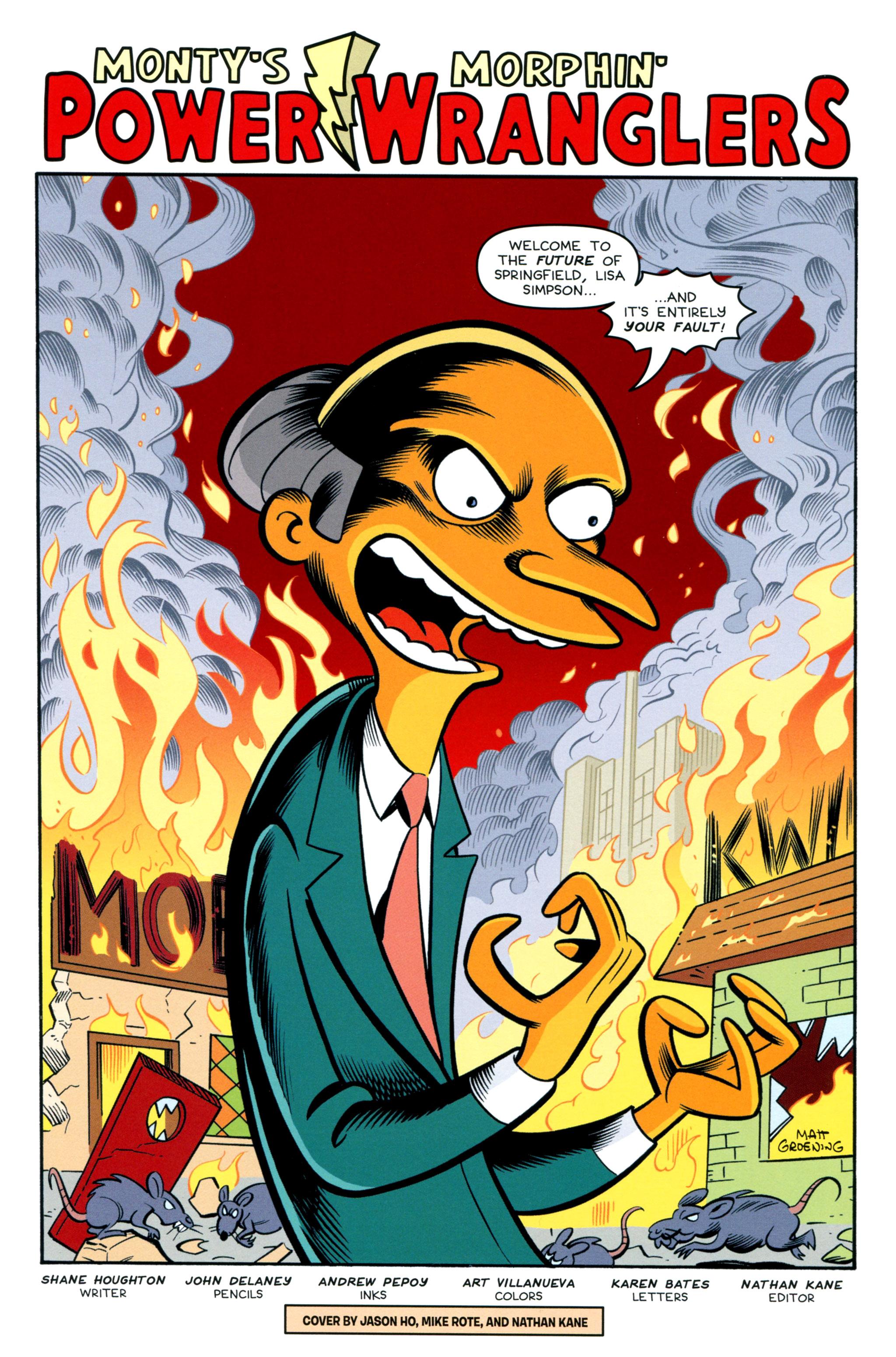 Read online Simpsons Comics comic -  Issue #212 - 3