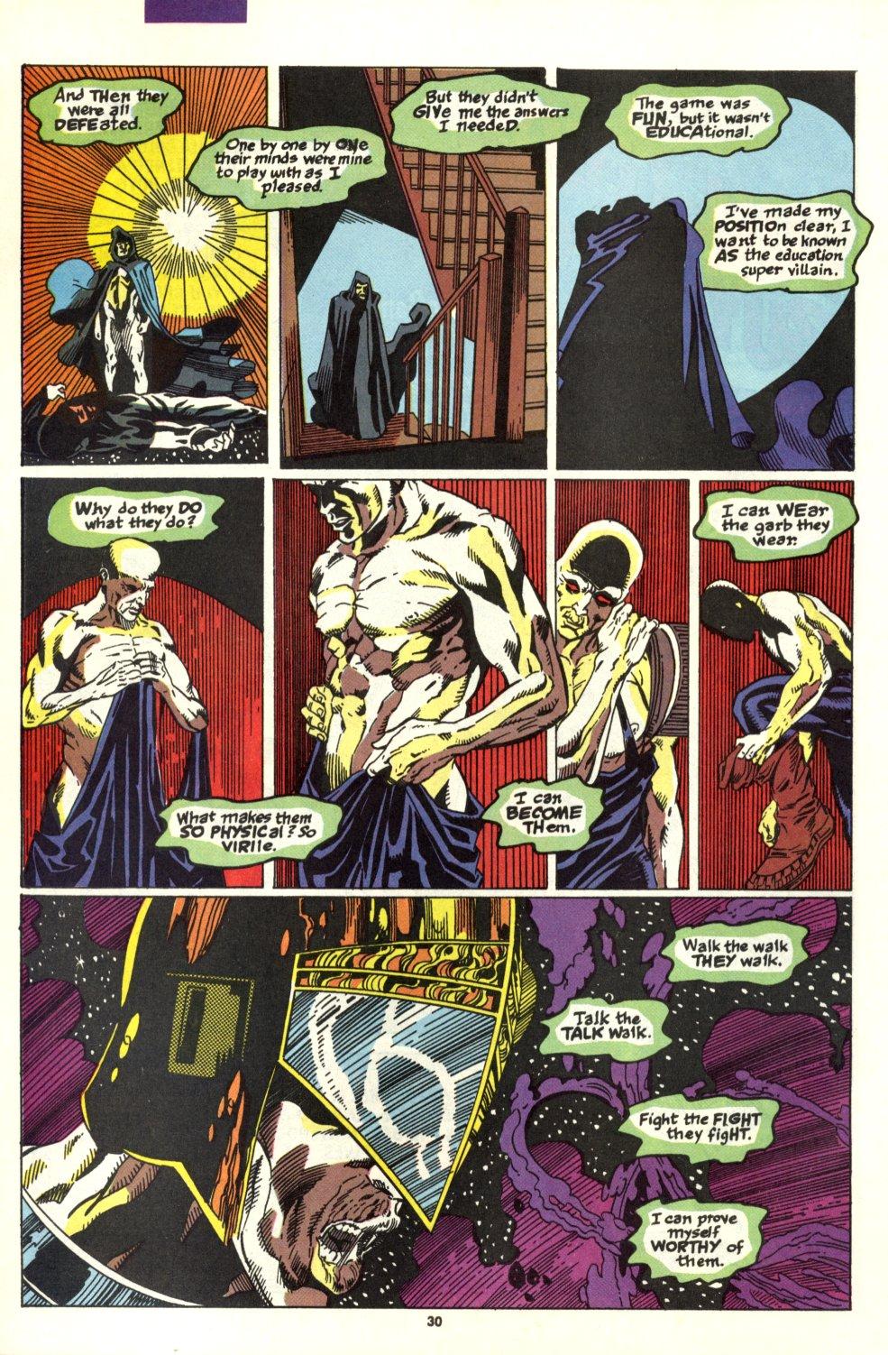 Read online Alpha Flight (1983) comic -  Issue #93 - 24