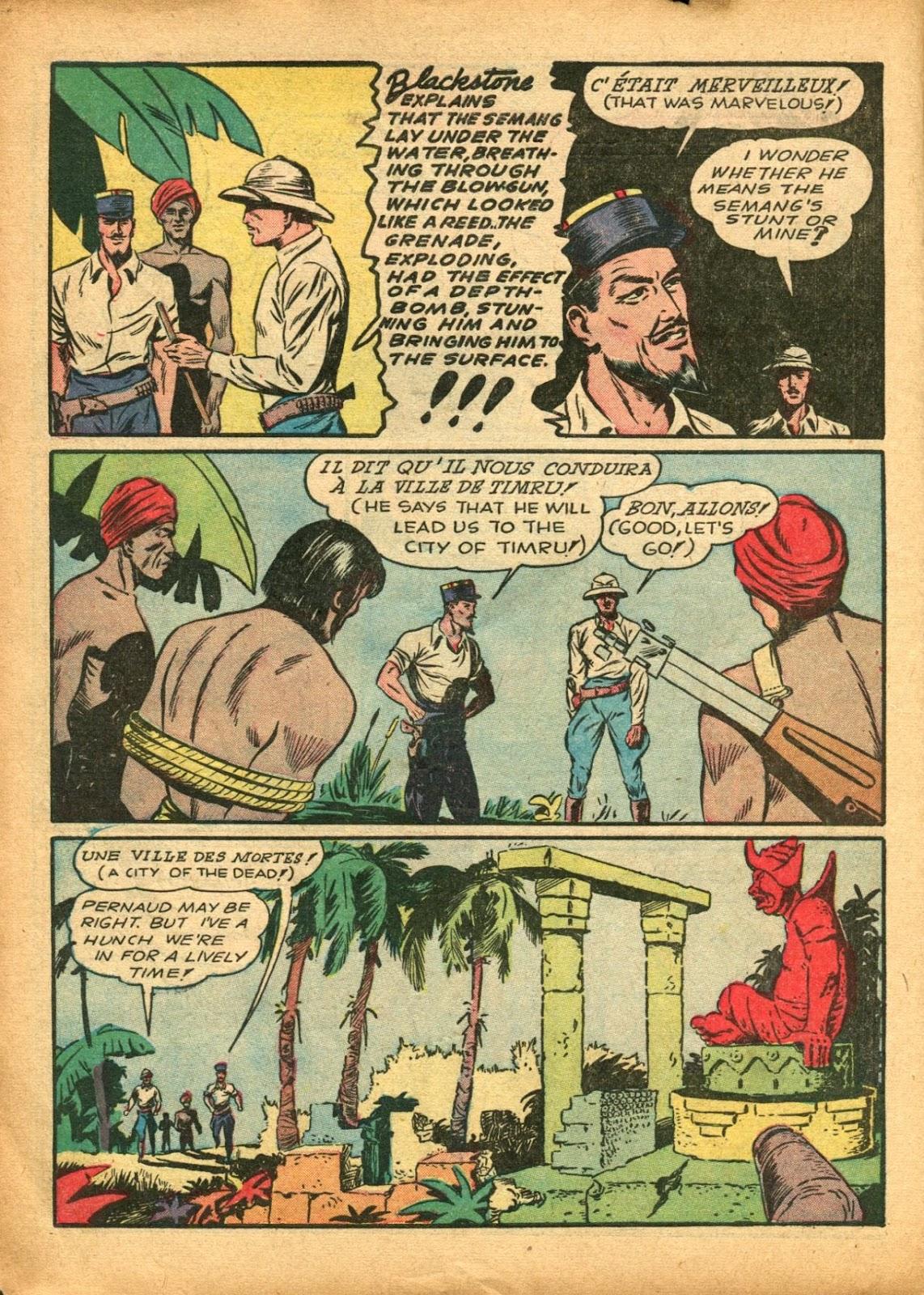 Read online Super-Magician Comics comic -  Issue #5 - 16