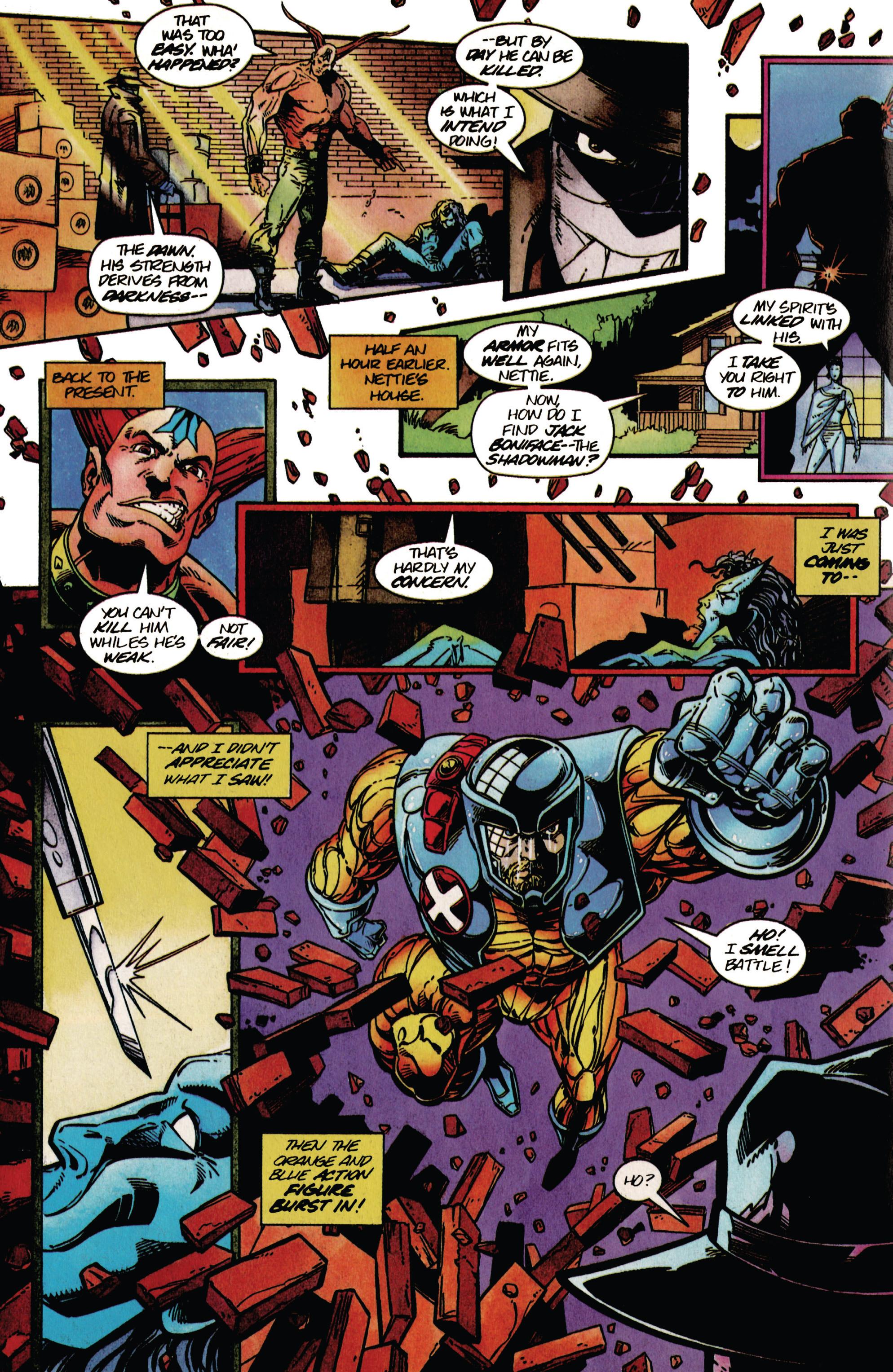 Read online Shadowman (1992) comic -  Issue #37 - 19