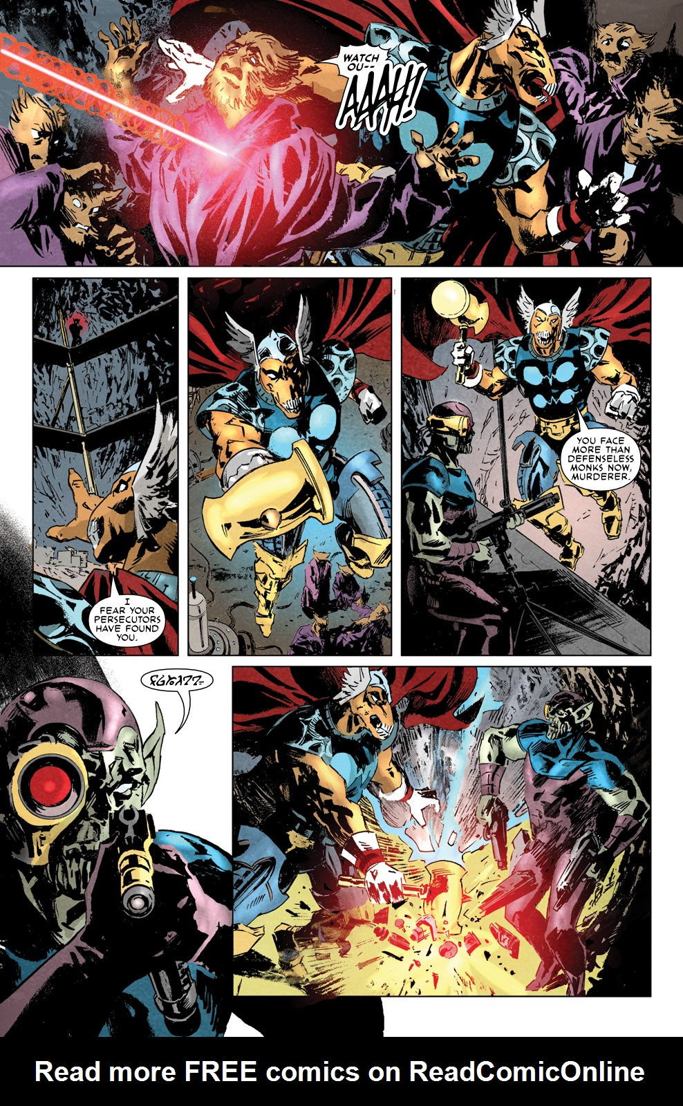 Read online Secret Invasion Aftermath: Beta Ray Bill - The Green of Eden comic -  Issue # Full - 10