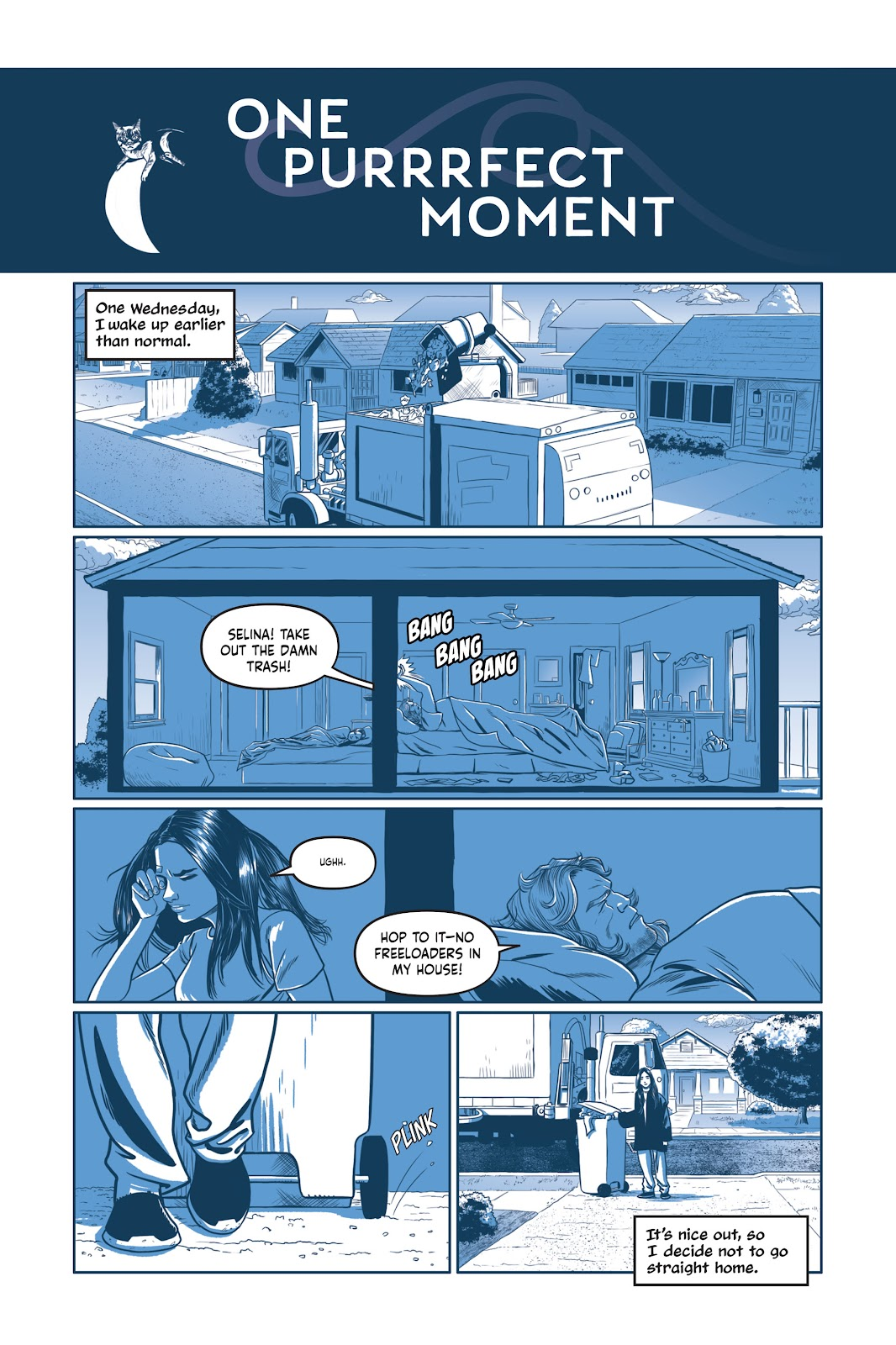 Read online Under the Moon: A Catwoman Tale comic -  Issue # TPB (Part 1) - 44