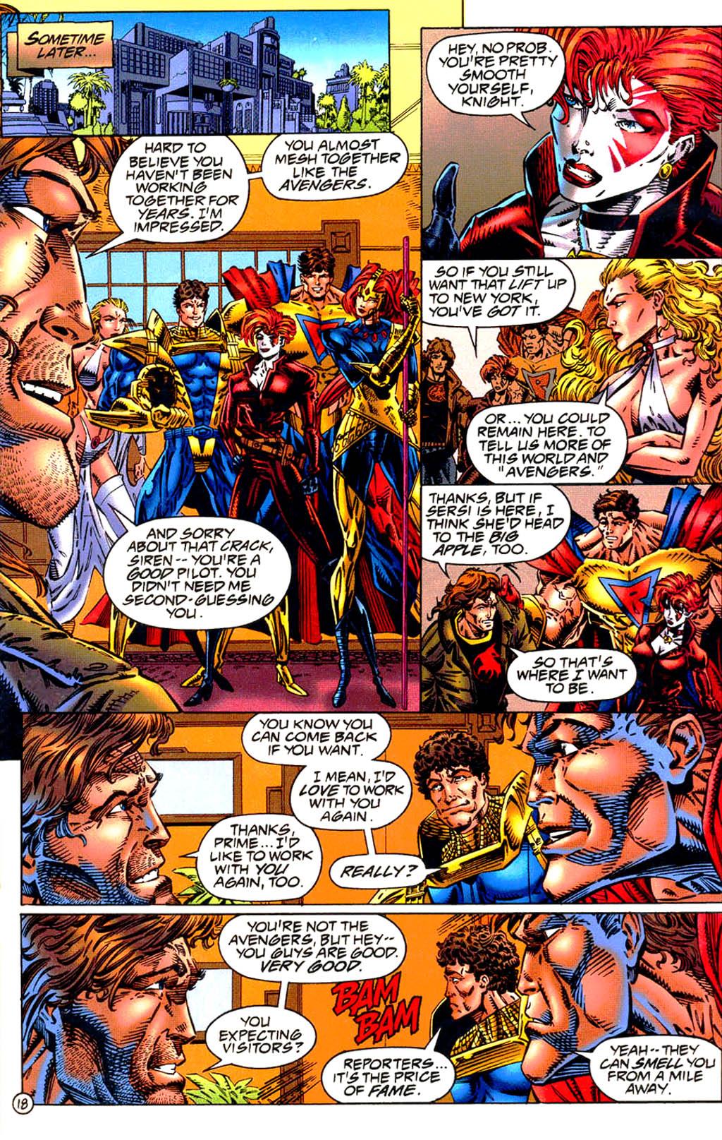 Read online UltraForce (1994) comic -  Issue #9 - 19