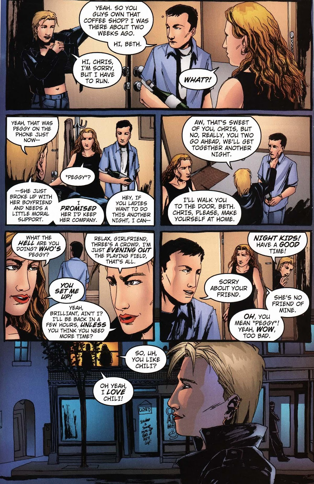 Read online Vampire the Masquerade comic -  Issue # Ventrue - 9