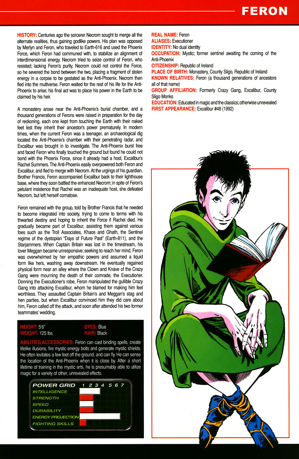 Read online All-New Official Handbook of the Marvel Universe A to Z comic -  Issue #4 - 31