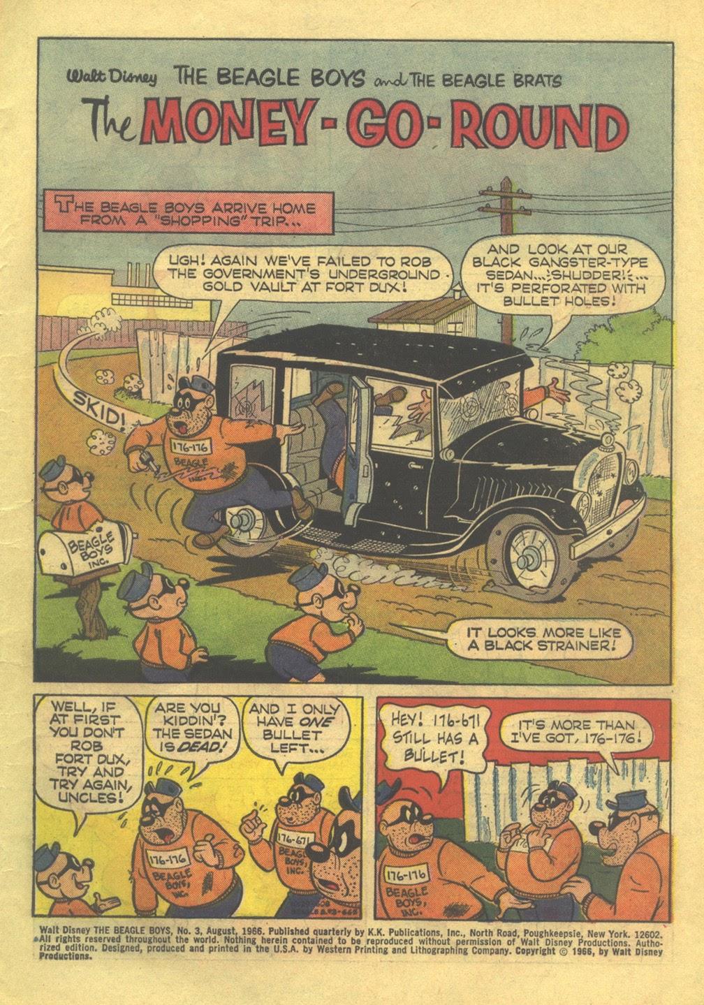 Walt Disney THE BEAGLE BOYS issue 3 - Page 3