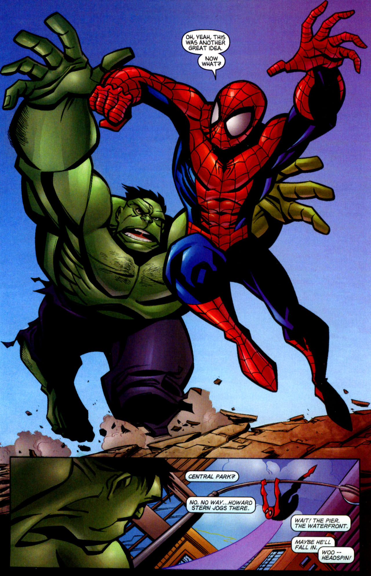 Read online Ultimate Marvel Team-Up comic -  Issue #3 - 8