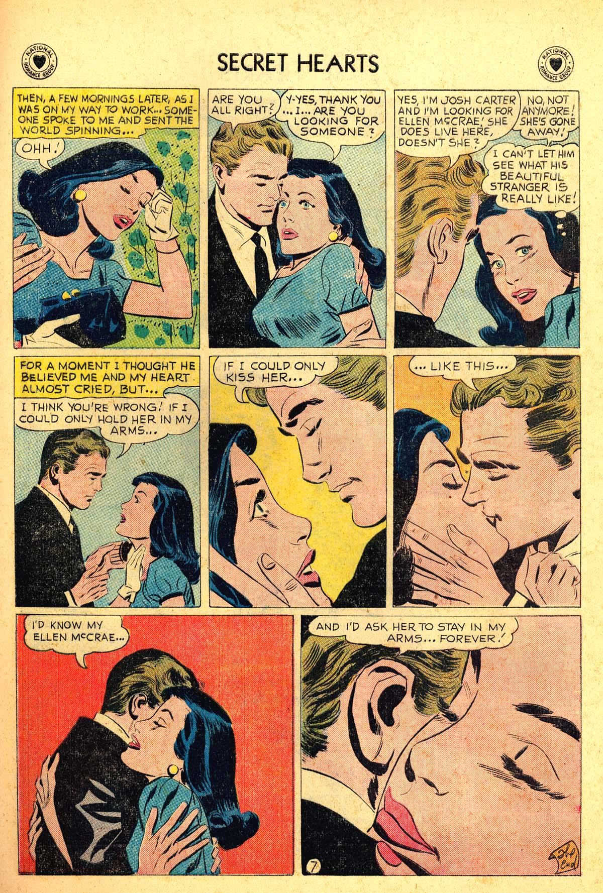 Read online Secret Hearts comic -  Issue #54 - 25