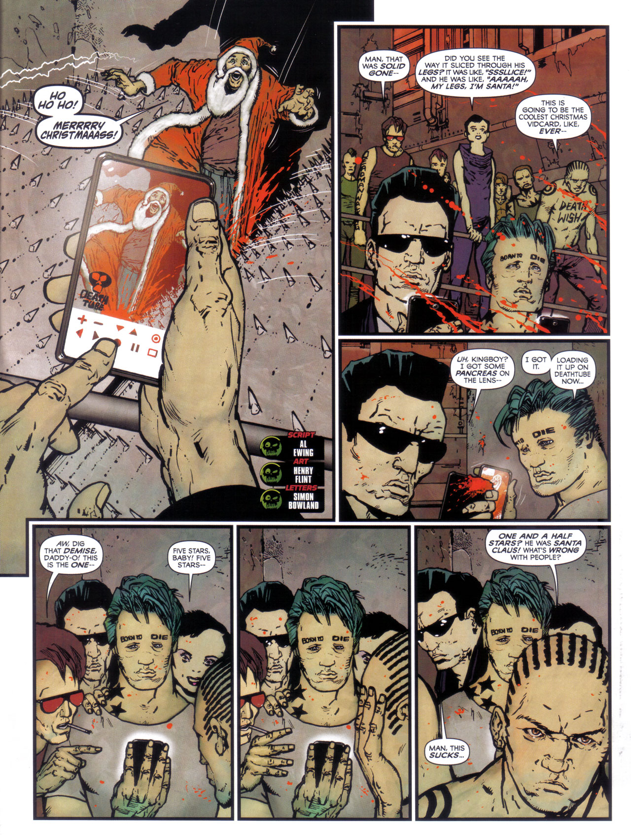 Read online 2000 AD comic -  Issue #1746 - 41