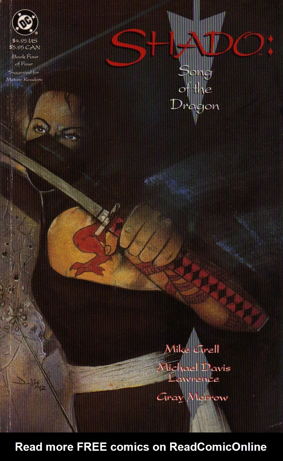 Read online Shado: Song of the Dragon comic -  Issue #4 - 1