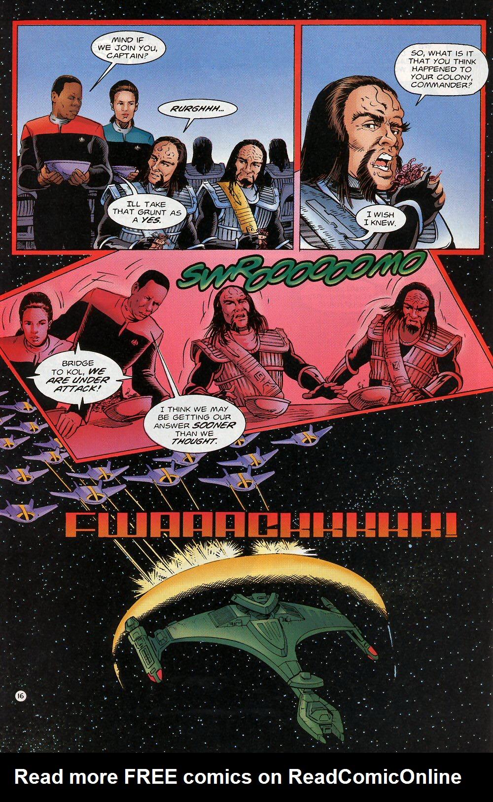Read online Star Trek: Deep Space Nine - Lightstorm comic -  Issue # Full - 16
