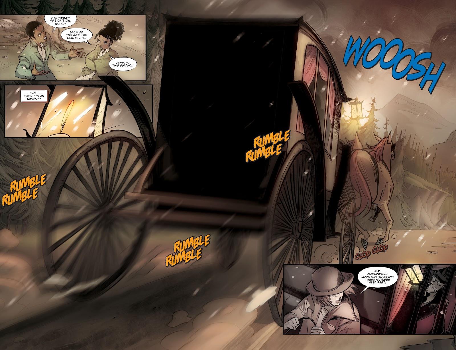 Read online Mirka Andolfo's Mercy comic -  Issue #1 - 11