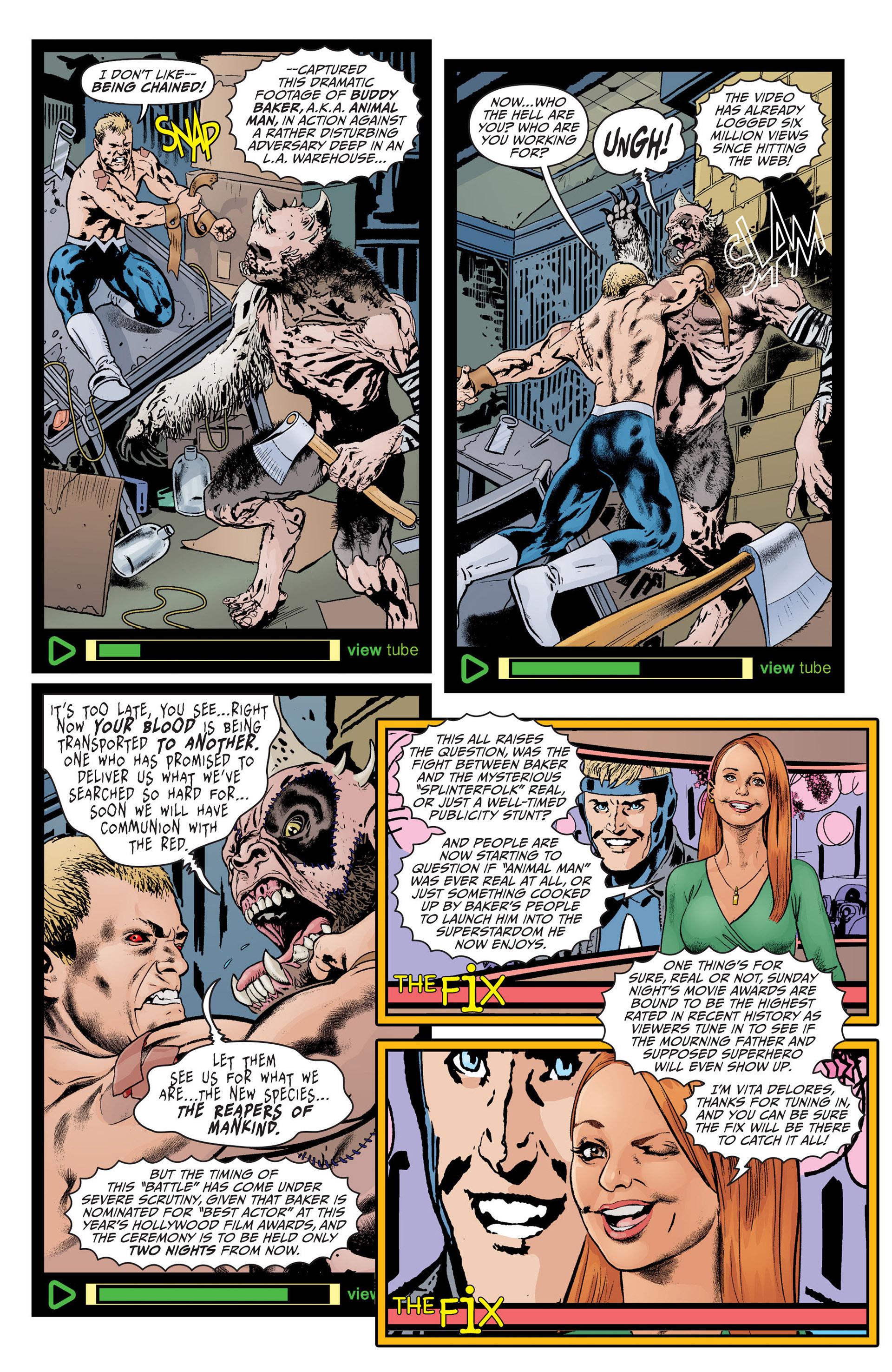 Read online Animal Man (2011) comic -  Issue #23 - 2