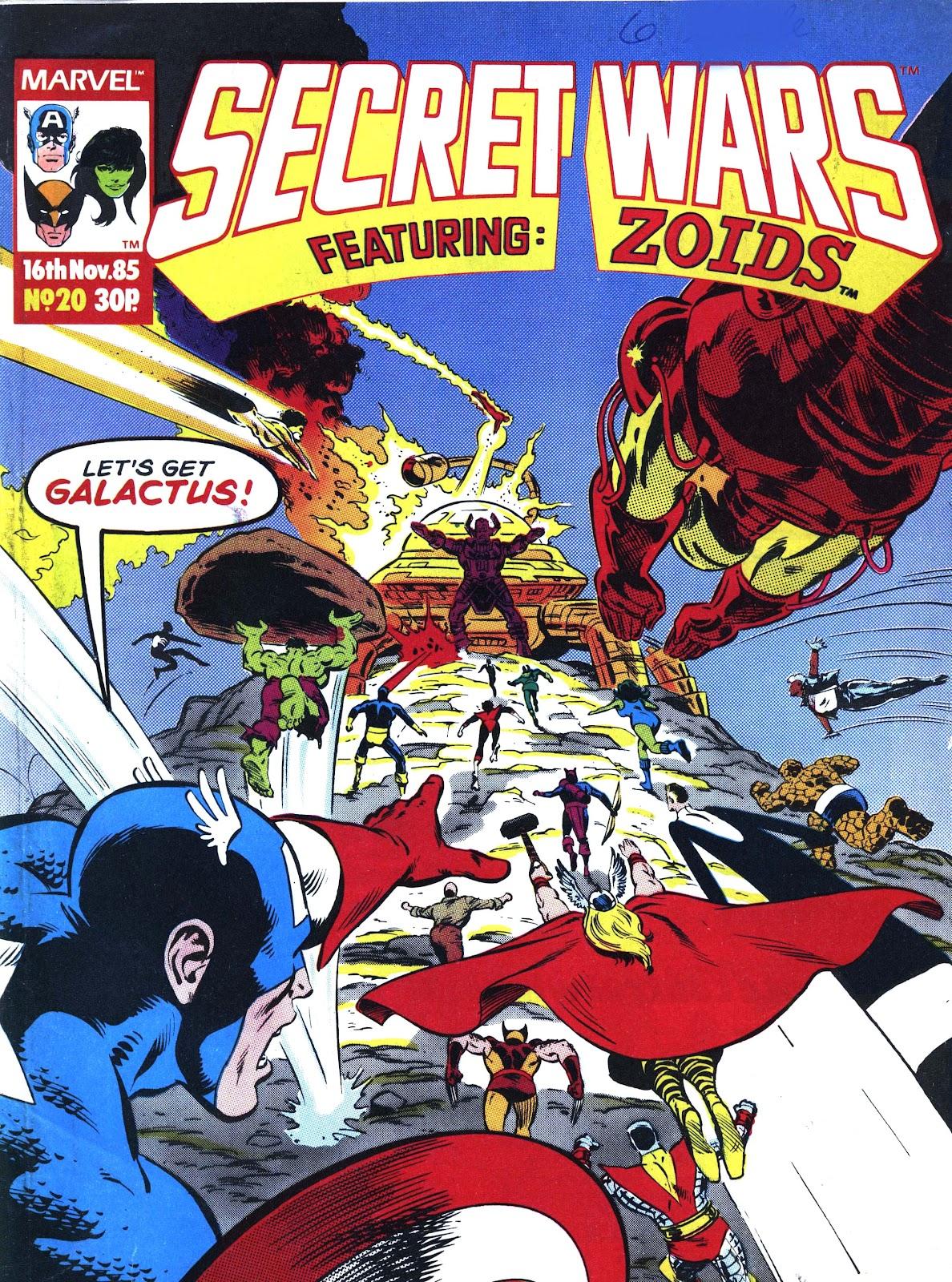 Secret Wars (1985) issue 20 - Page 1