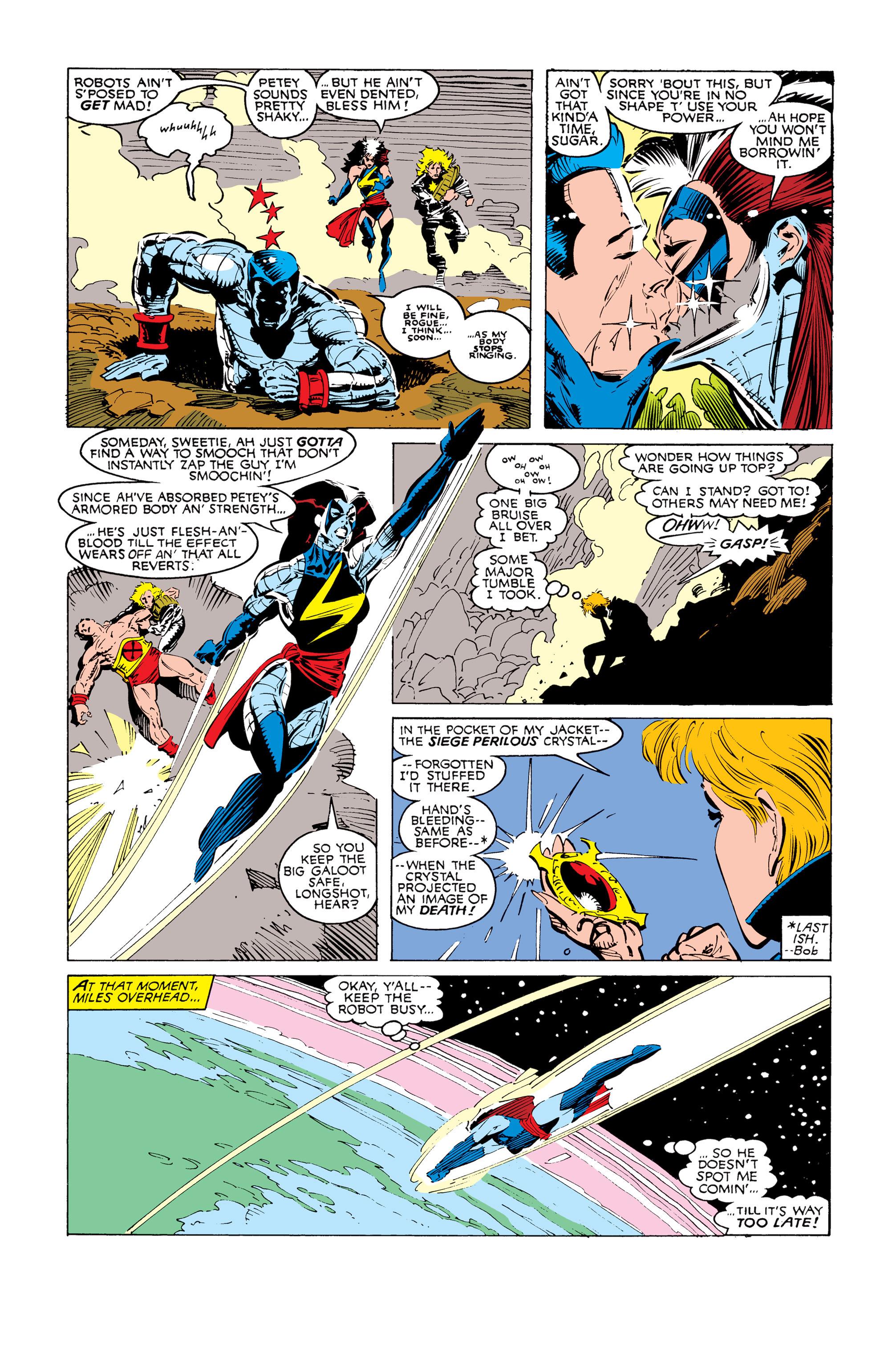 Read online Uncanny X-Men (1963) comic -  Issue #247 - 16
